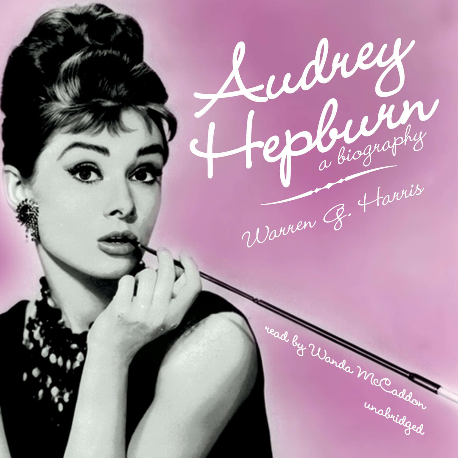 Printable Audrey Hepburn: A Biography Audiobook Cover Art