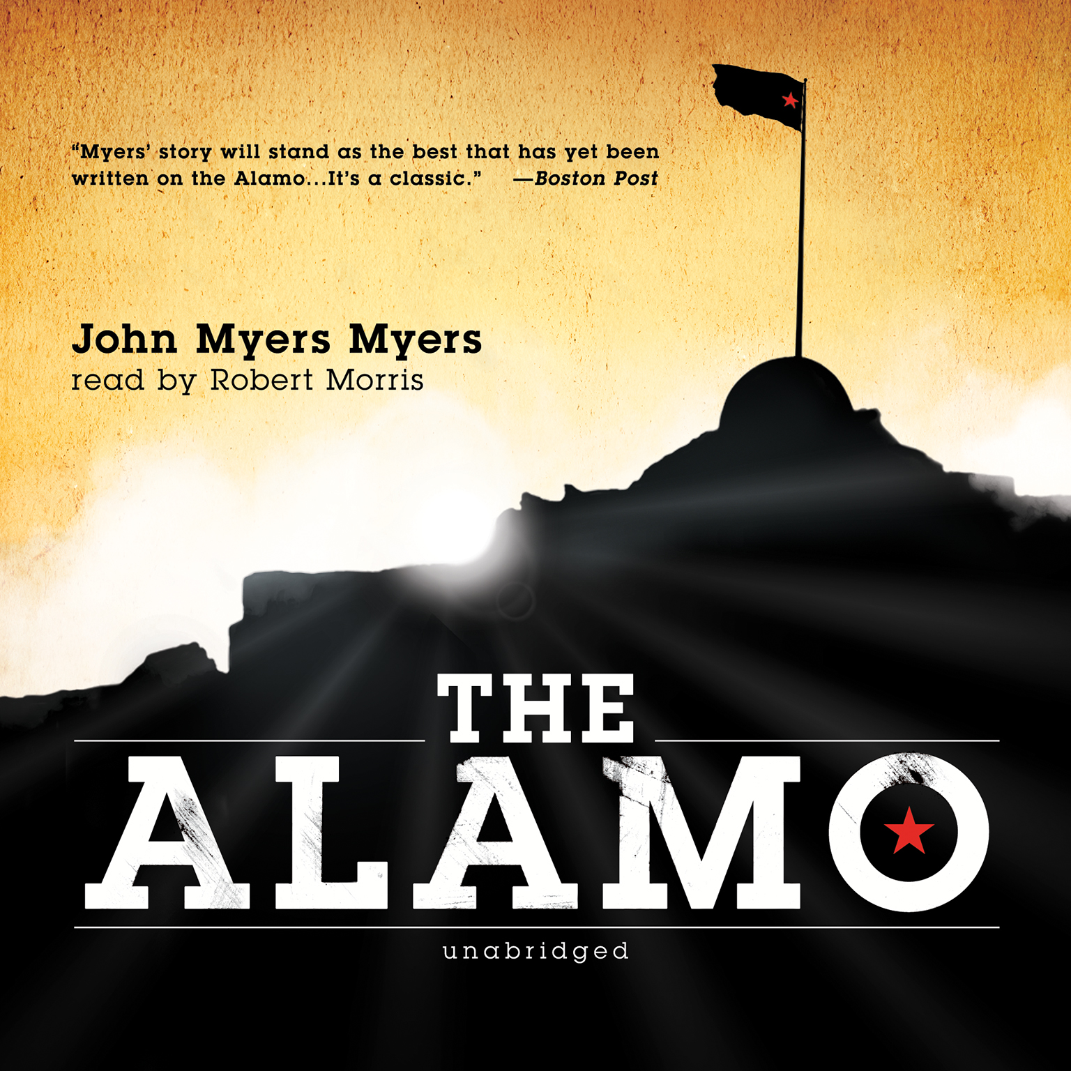 Printable The Alamo Audiobook Cover Art