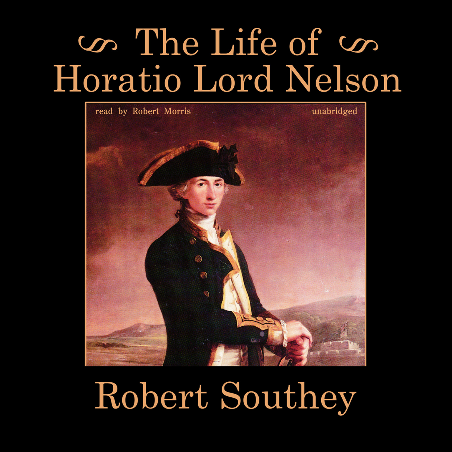 Printable The Life of Horatio Lord Nelson Audiobook Cover Art