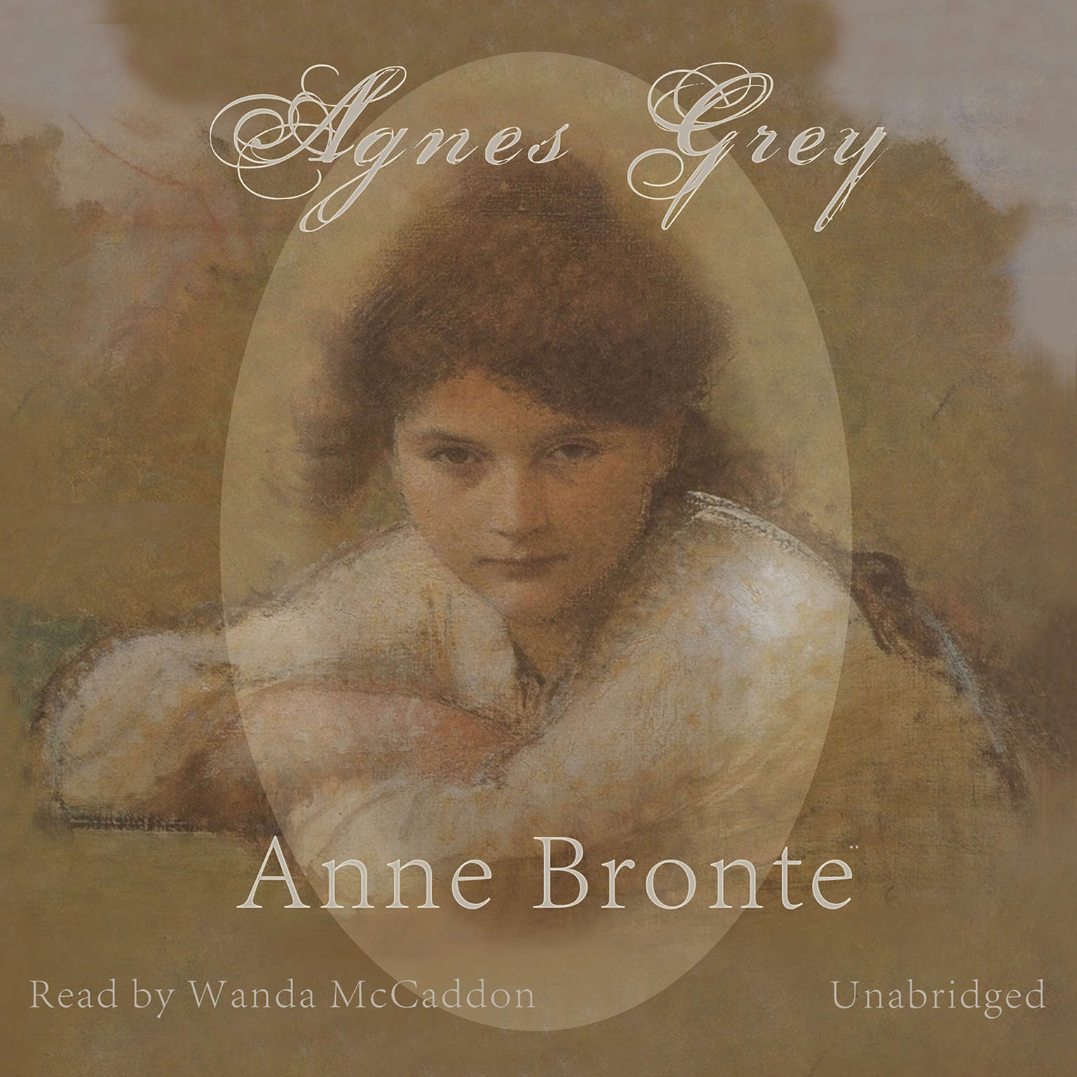 Printable Agnes Grey Audiobook Cover Art