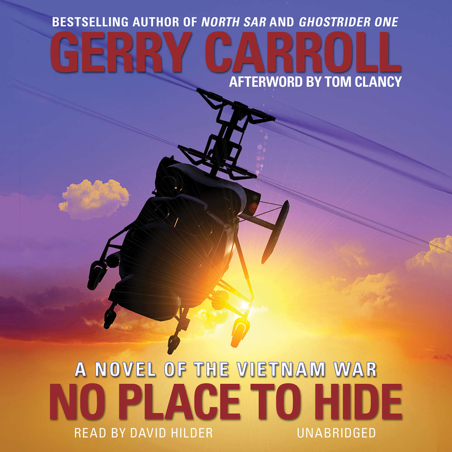 Printable No Place to Hide: A Novel of the Vietnam War Audiobook Cover Art