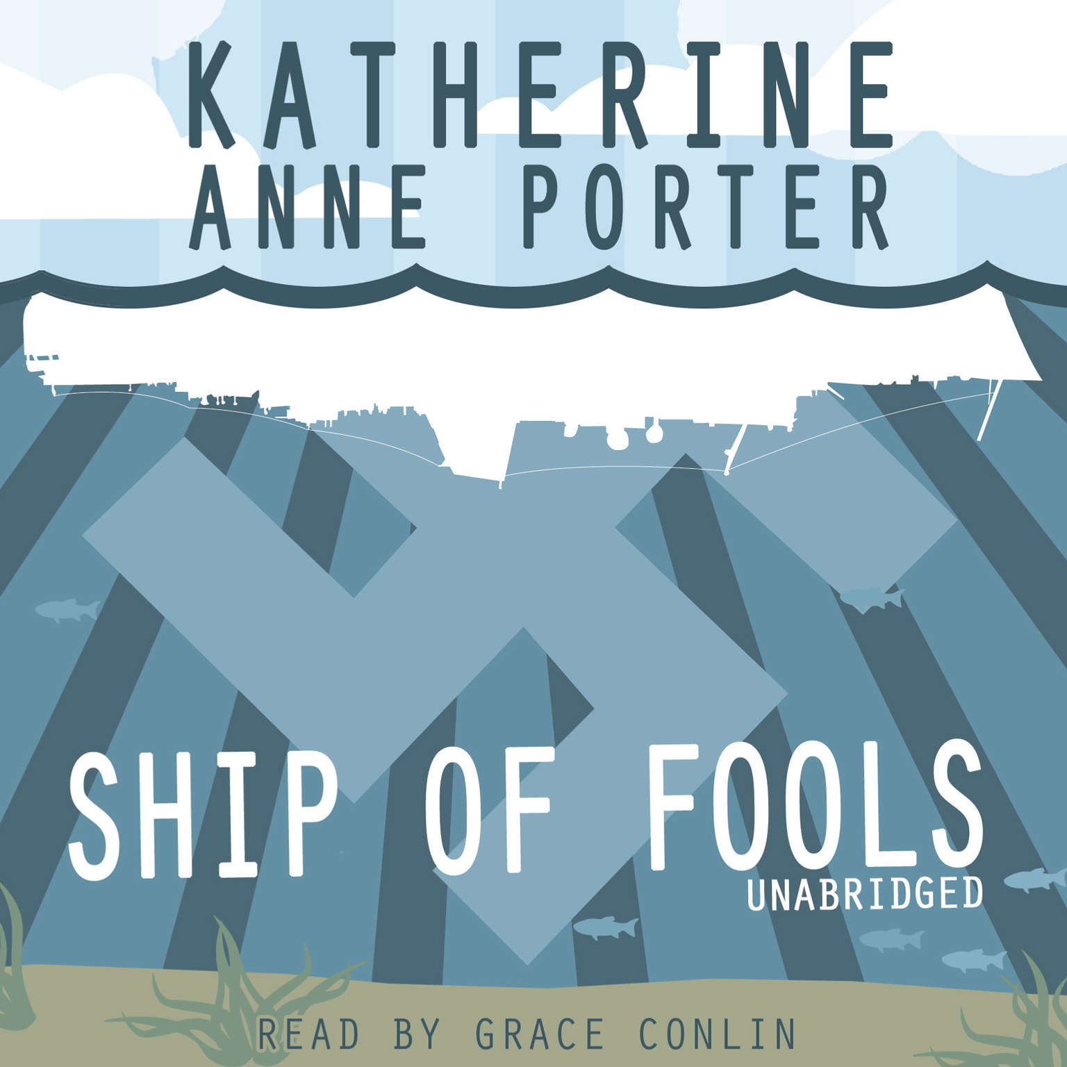 Printable Ship of Fools Audiobook Cover Art