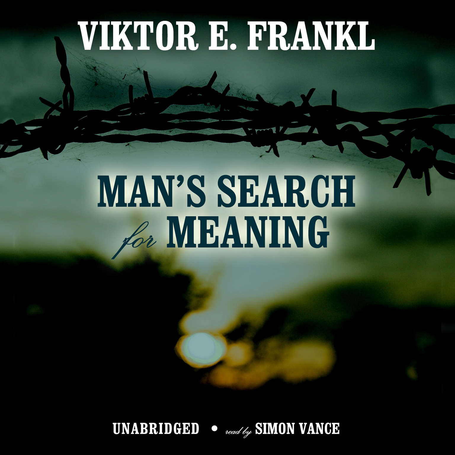 Printable Man's Search for Meaning: An Introduction to Logotherapy Audiobook Cover Art