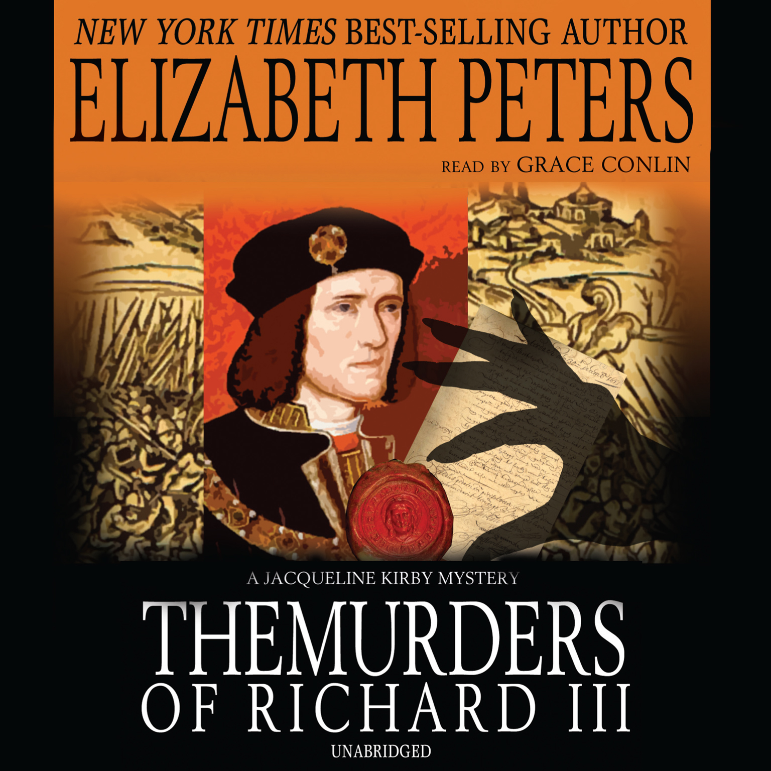 Printable The Murders of Richard III Audiobook Cover Art
