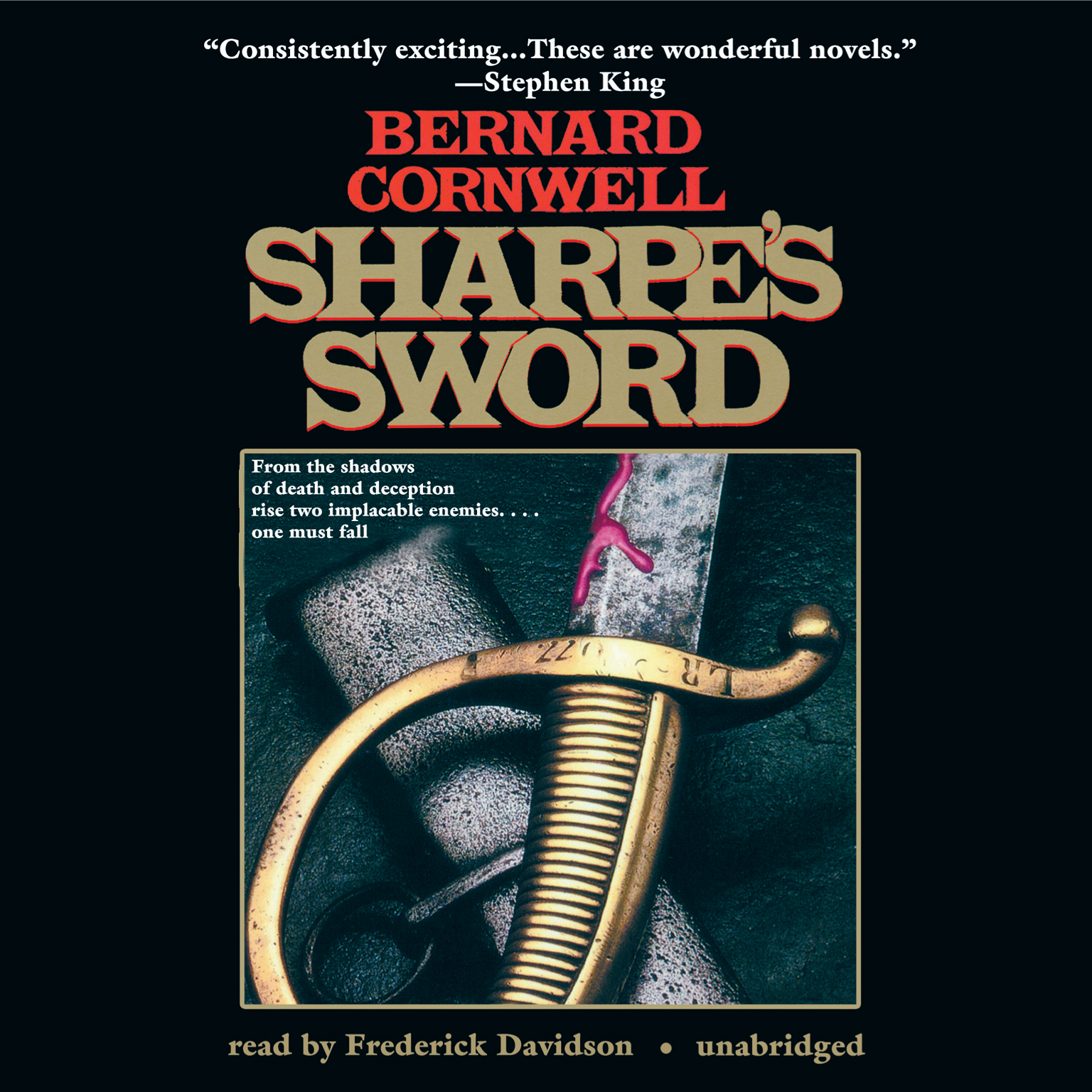 Printable Sharpe's Sword: Richard Sharpe and the Salamanca Campaign, June and July 1812 Audiobook Cover Art