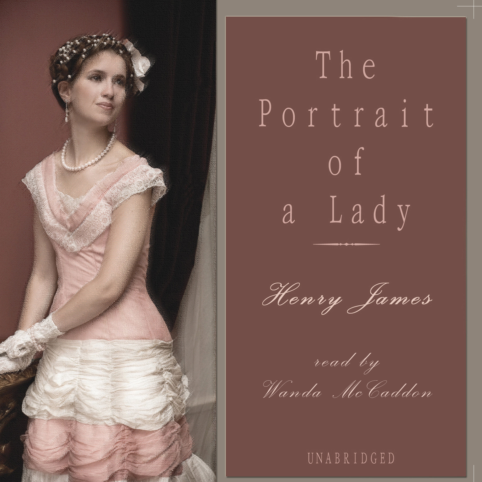 Printable The Portrait of a Lady Audiobook Cover Art
