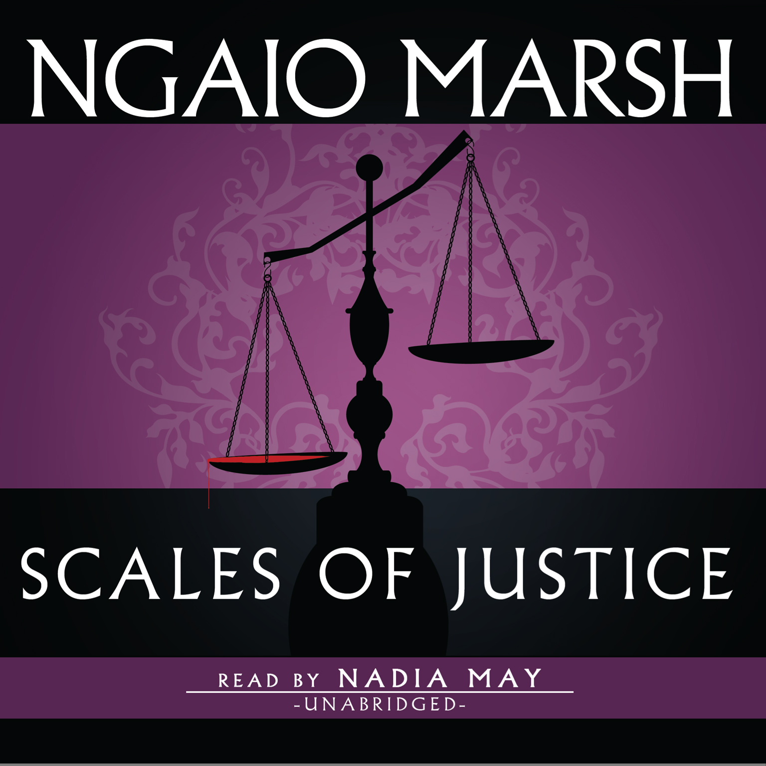 Printable Scales of Justice Audiobook Cover Art