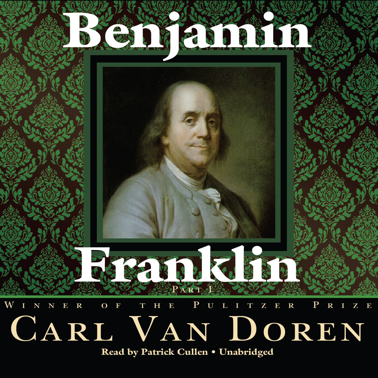 Printable Benjamin Franklin Audiobook Cover Art