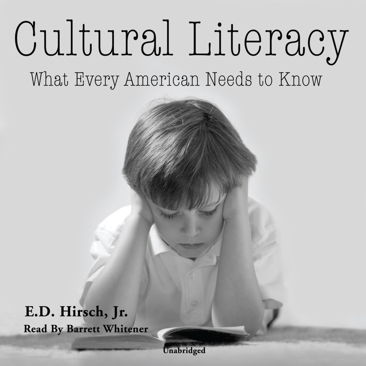 Printable Cultural Literacy: What Every American Needs to Know Audiobook Cover Art