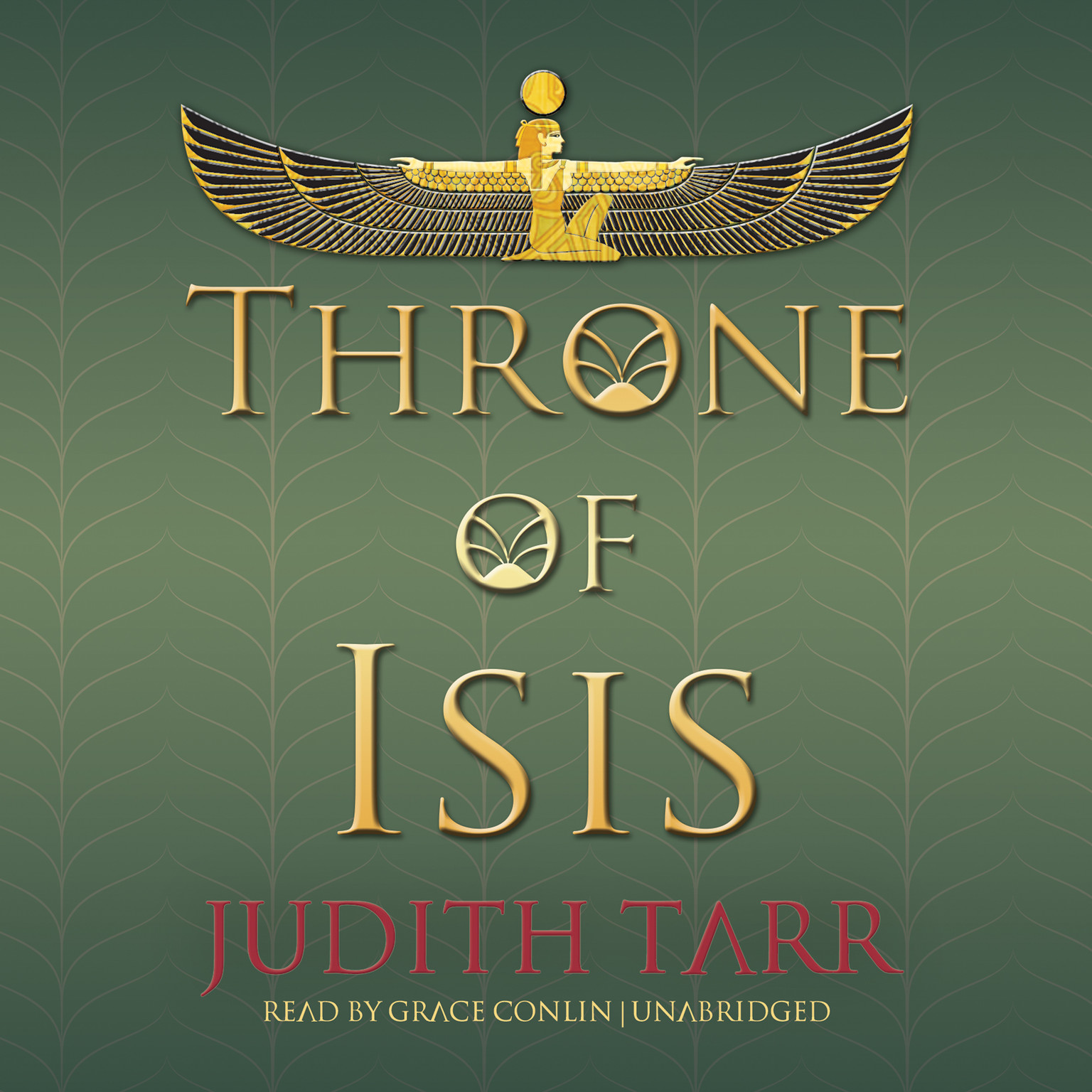 Printable Throne of Isis Audiobook Cover Art