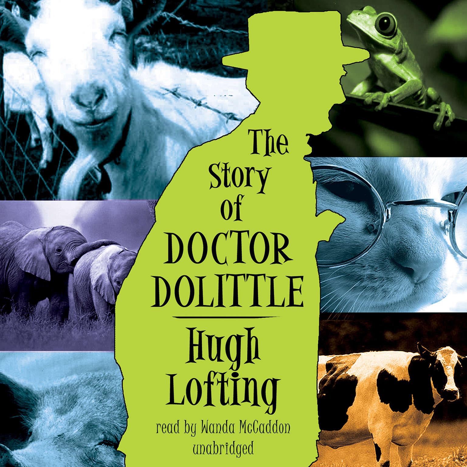 Printable The Story of Doctor Dolittle Audiobook Cover Art