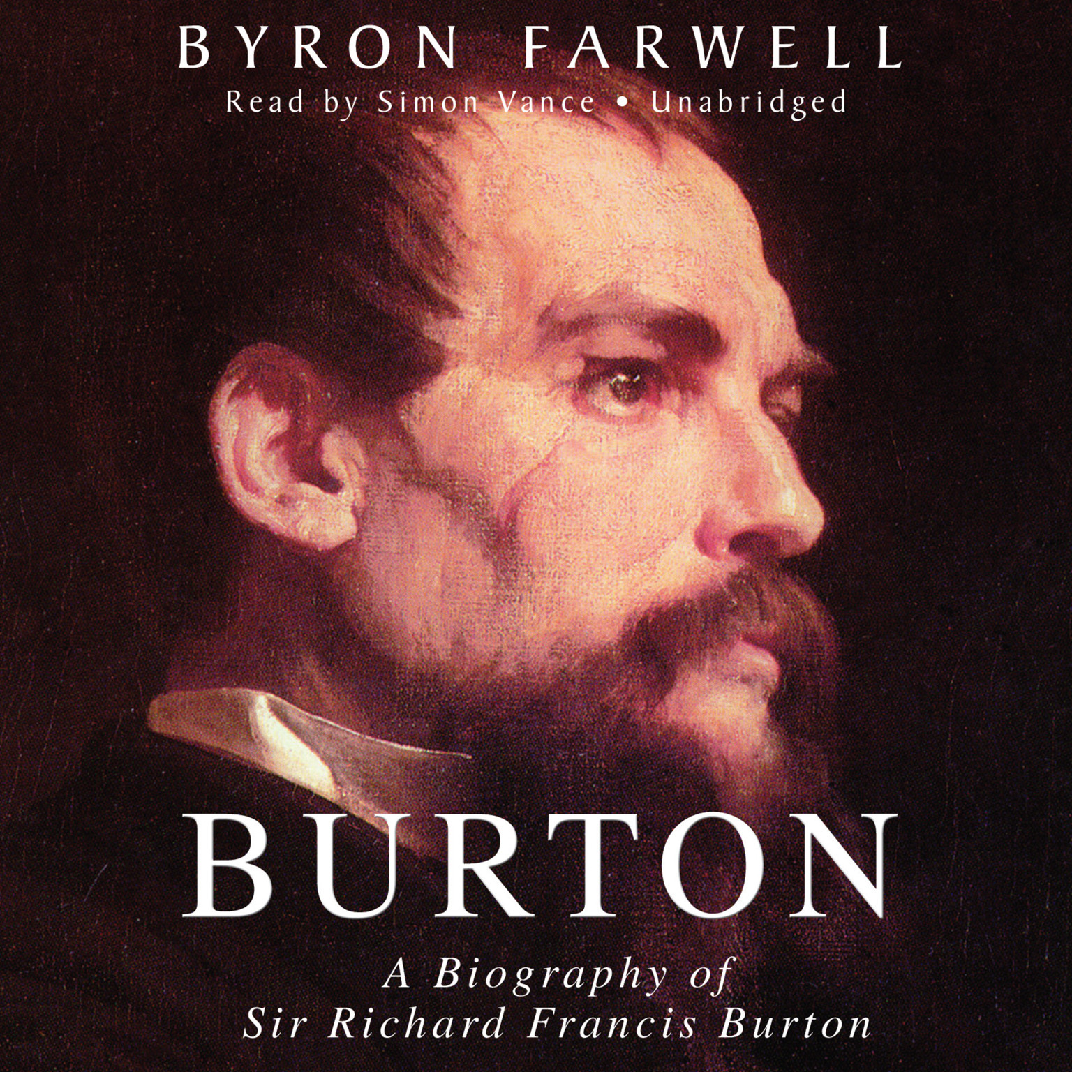 Printable Burton: A Biography of Sir Richard Frances Burton Audiobook Cover Art