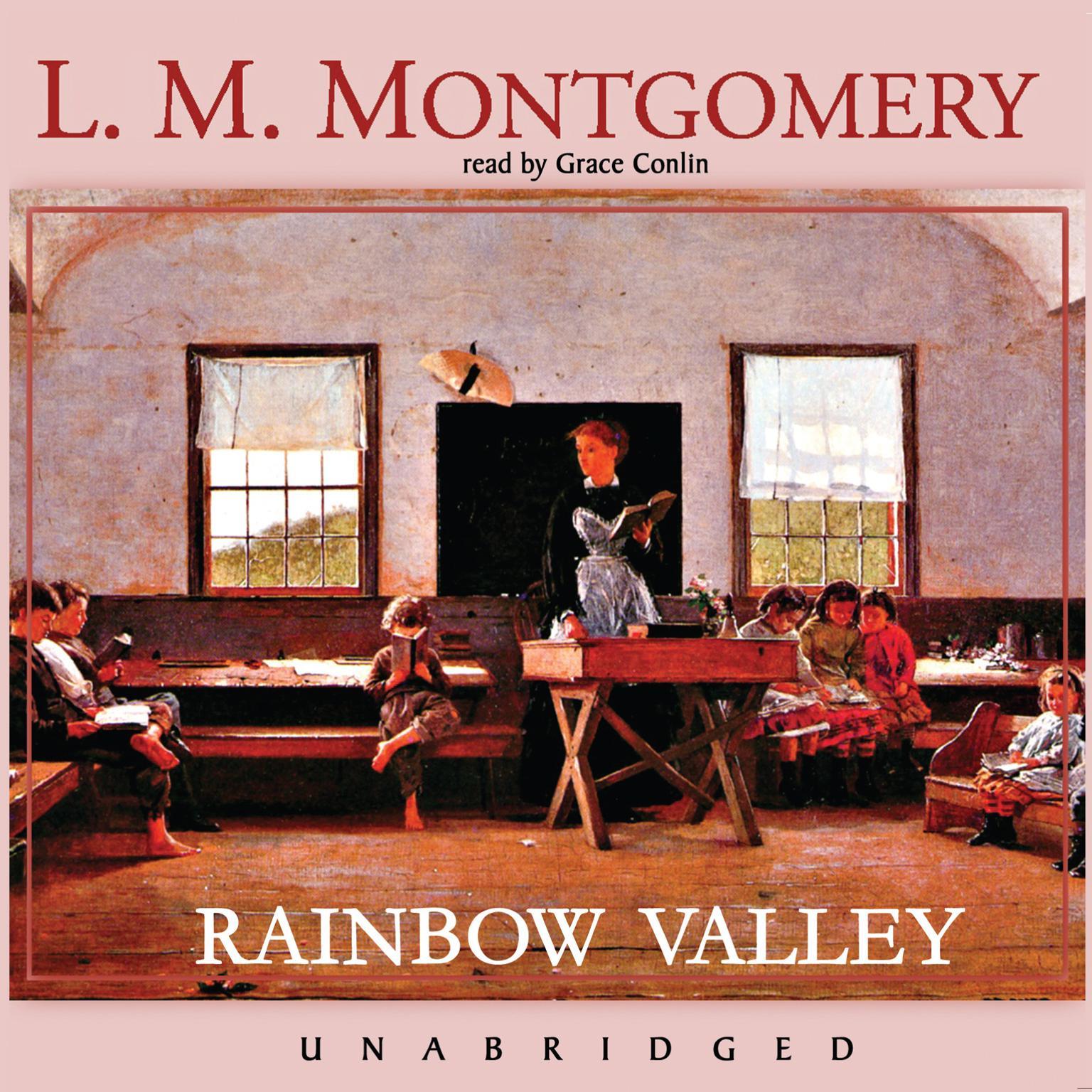 Printable Rainbow Valley Audiobook Cover Art