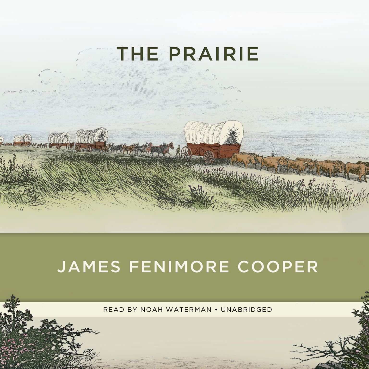 Printable The Prairie Audiobook Cover Art