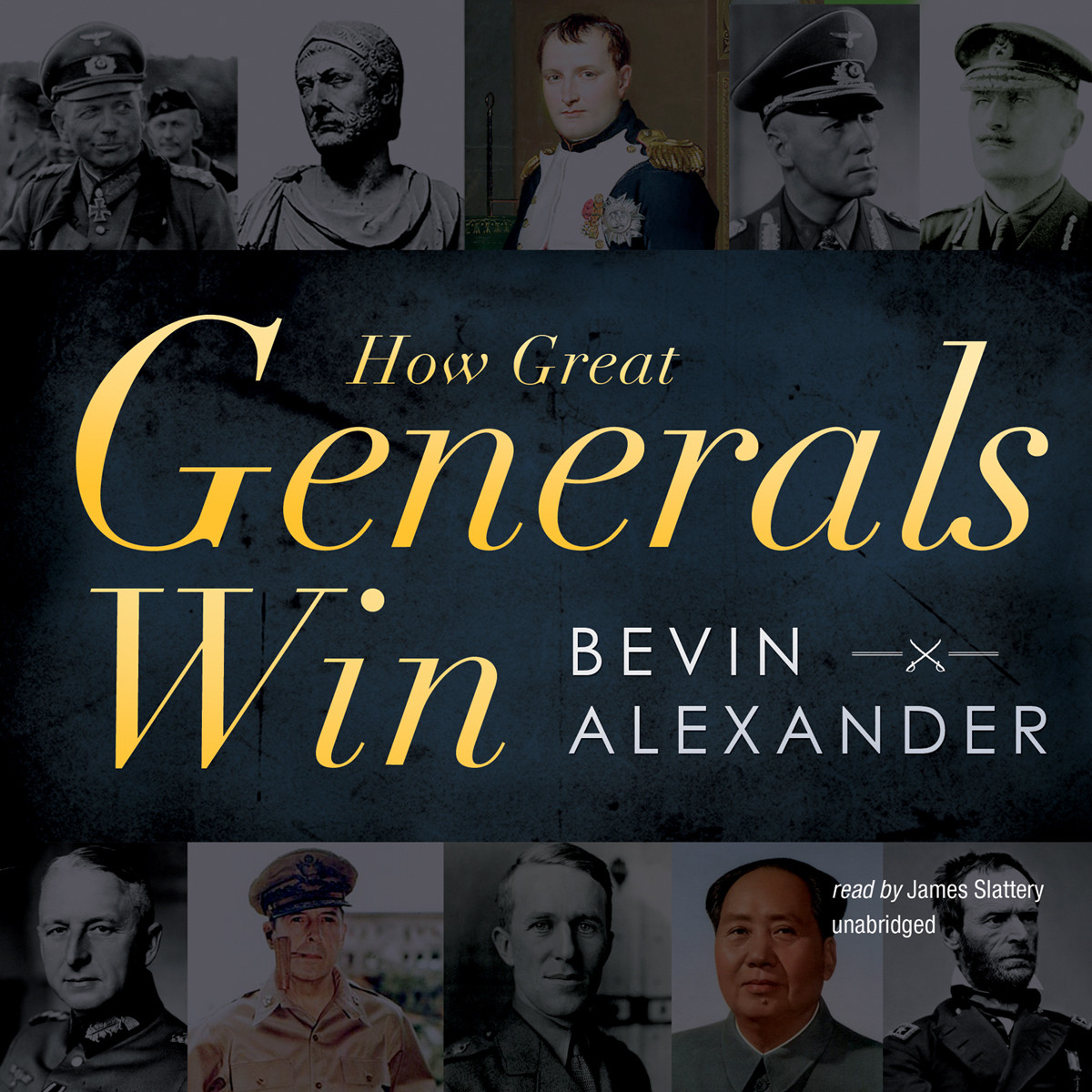 Printable How Great Generals Win Audiobook Cover Art