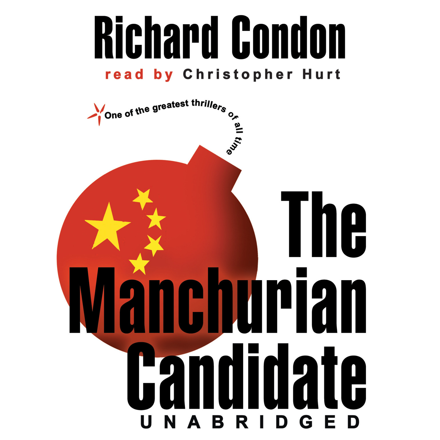 Printable The Manchurian Candidate Audiobook Cover Art