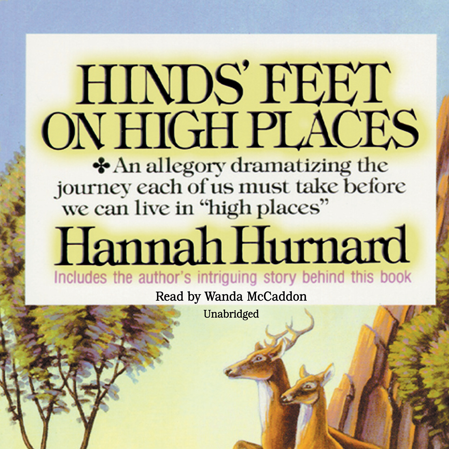 Hinds' Feet on High Places Audiobook, by Hannah Hurnard