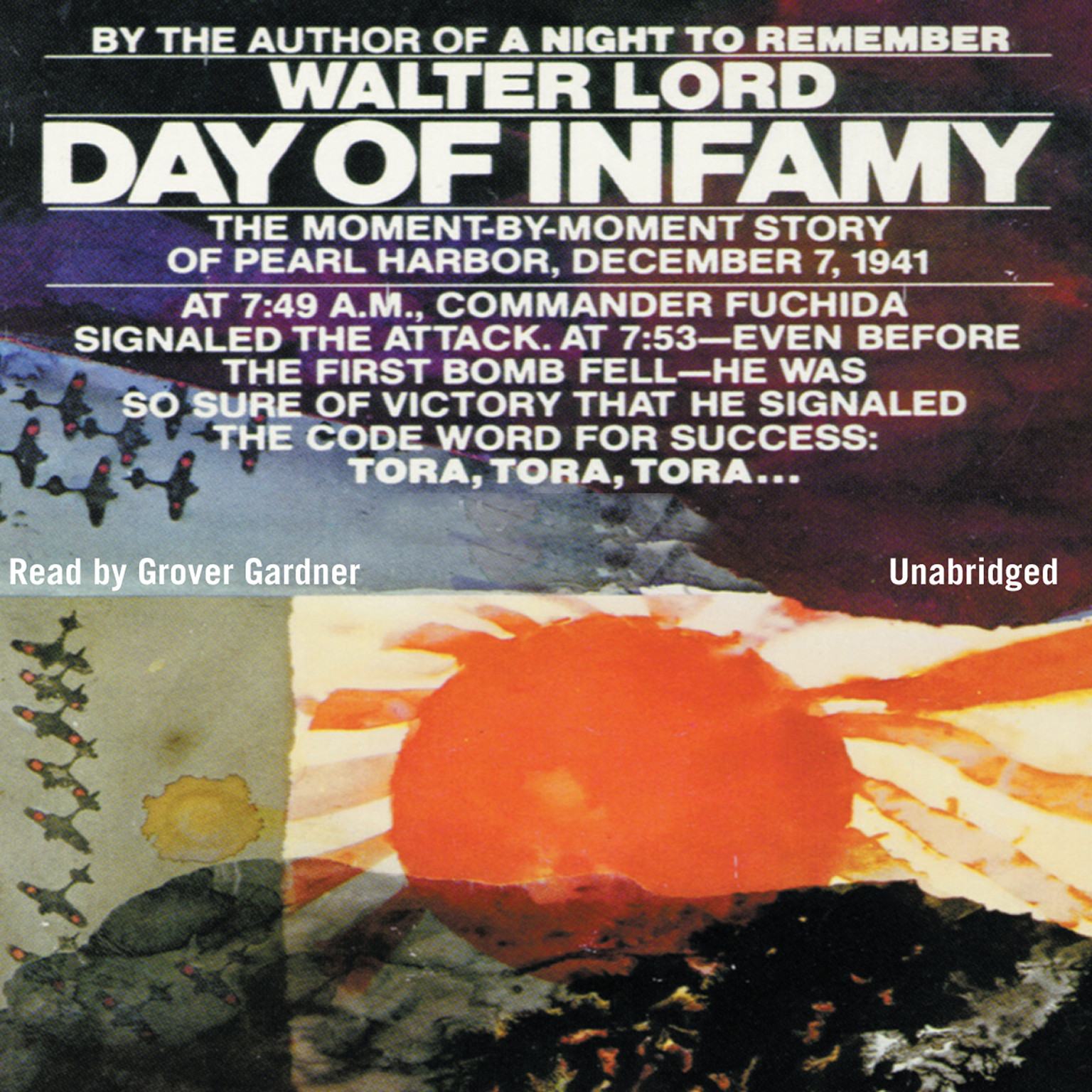 Printable Day of Infamy Audiobook Cover Art