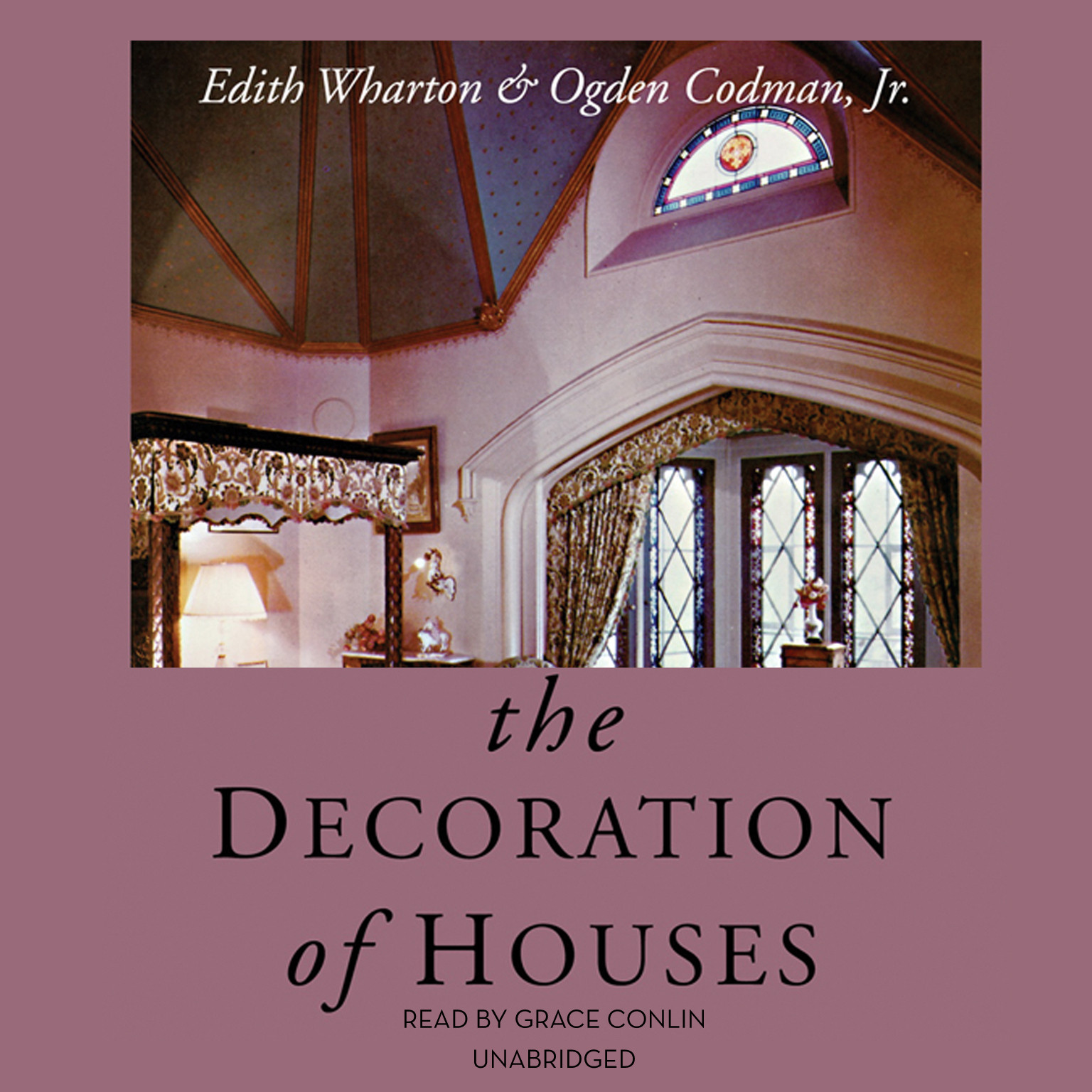 Printable The Decoration of Houses Audiobook Cover Art
