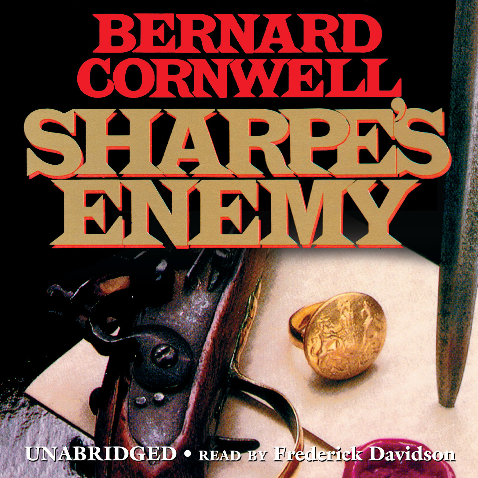 Printable Sharpe's Enemy: Richard Sharpe and the Defense of Portugal, Christmas 1812 Audiobook Cover Art