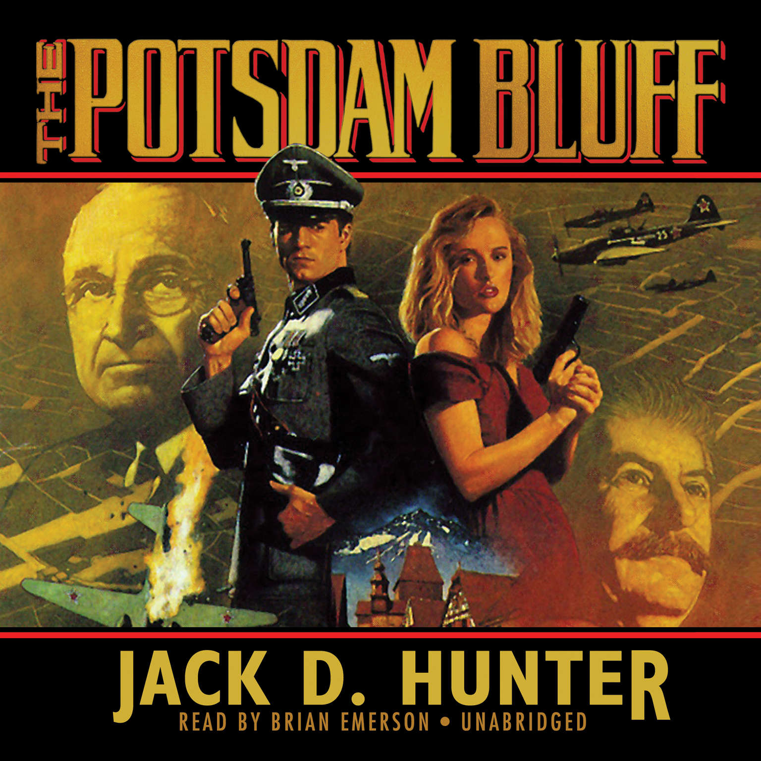 Printable The Potsdam Bluff Audiobook Cover Art