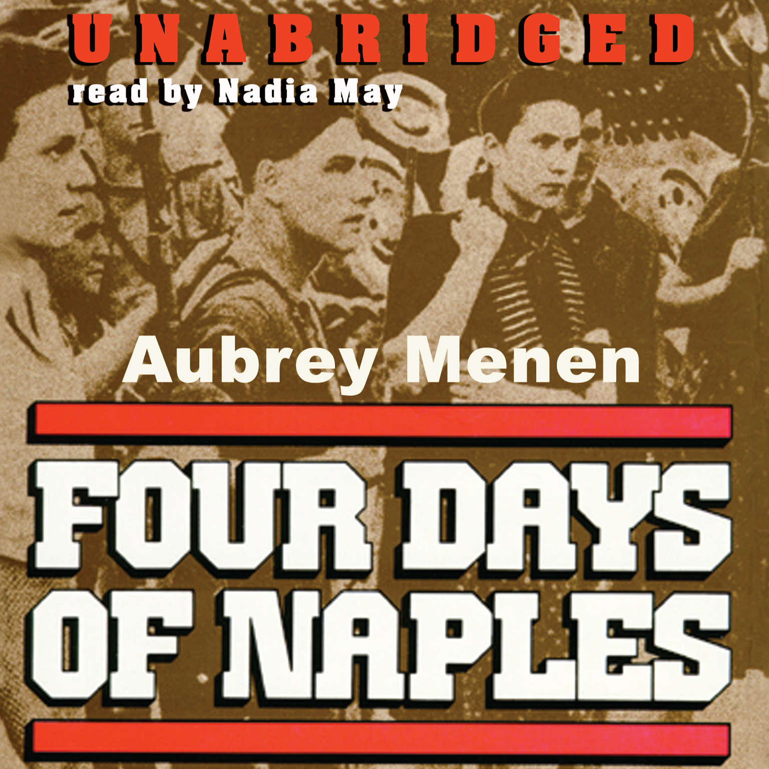 Printable Four Days of Naples Audiobook Cover Art