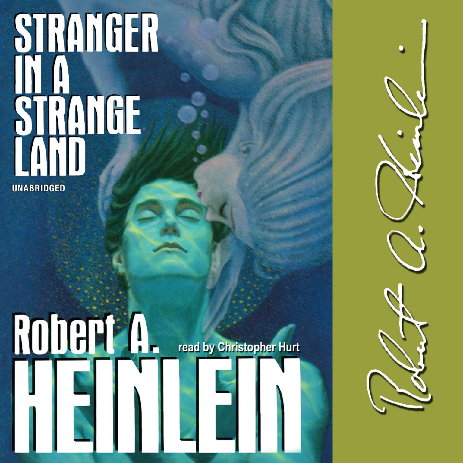 Printable Stranger in a Strange Land Audiobook Cover Art