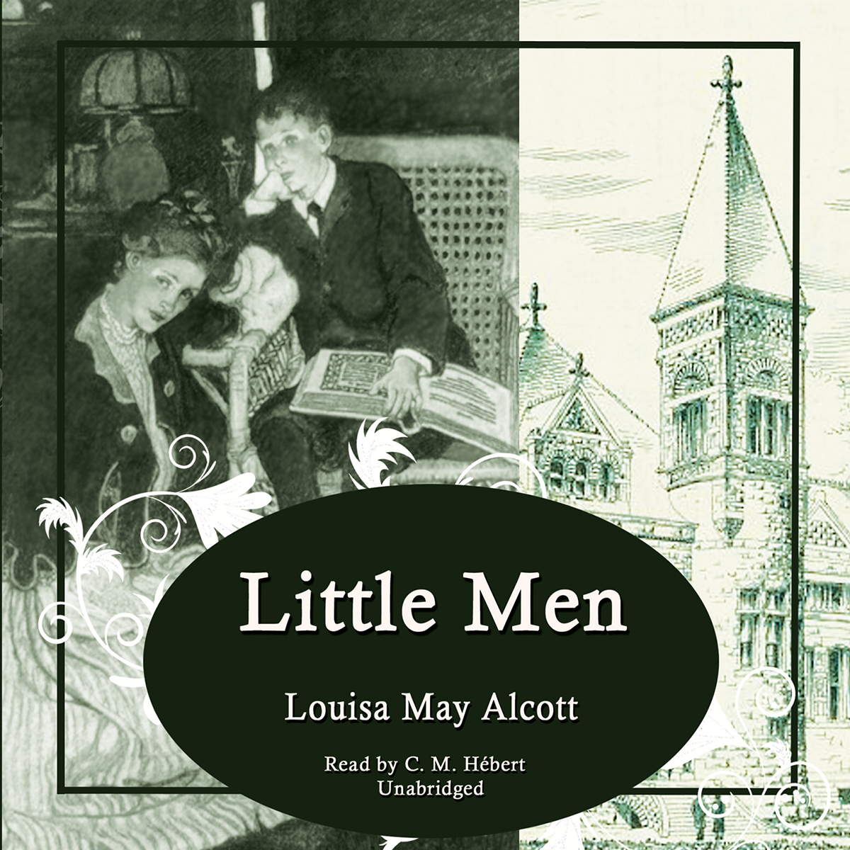 Printable Little Men Audiobook Cover Art