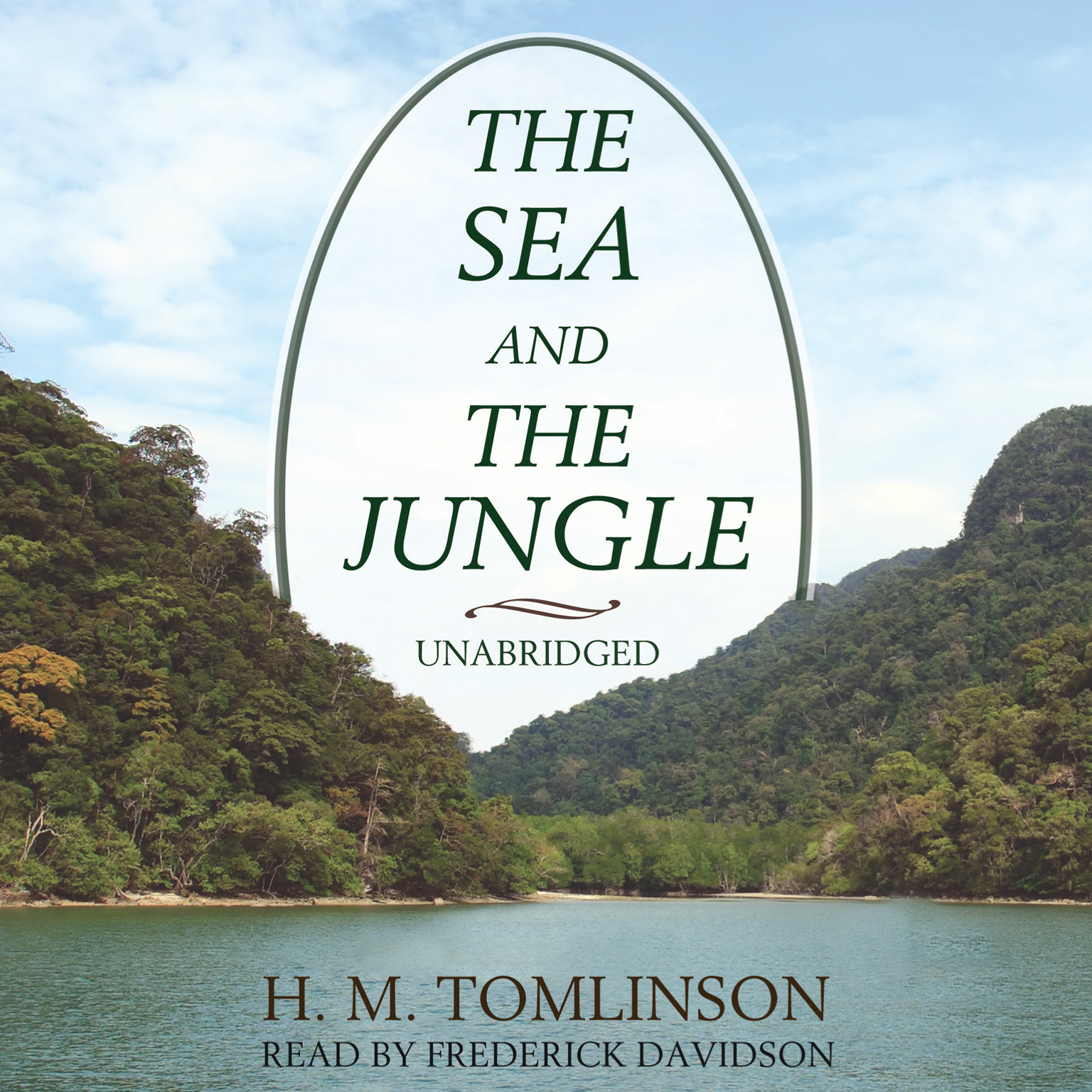 Printable The Sea and the Jungle Audiobook Cover Art
