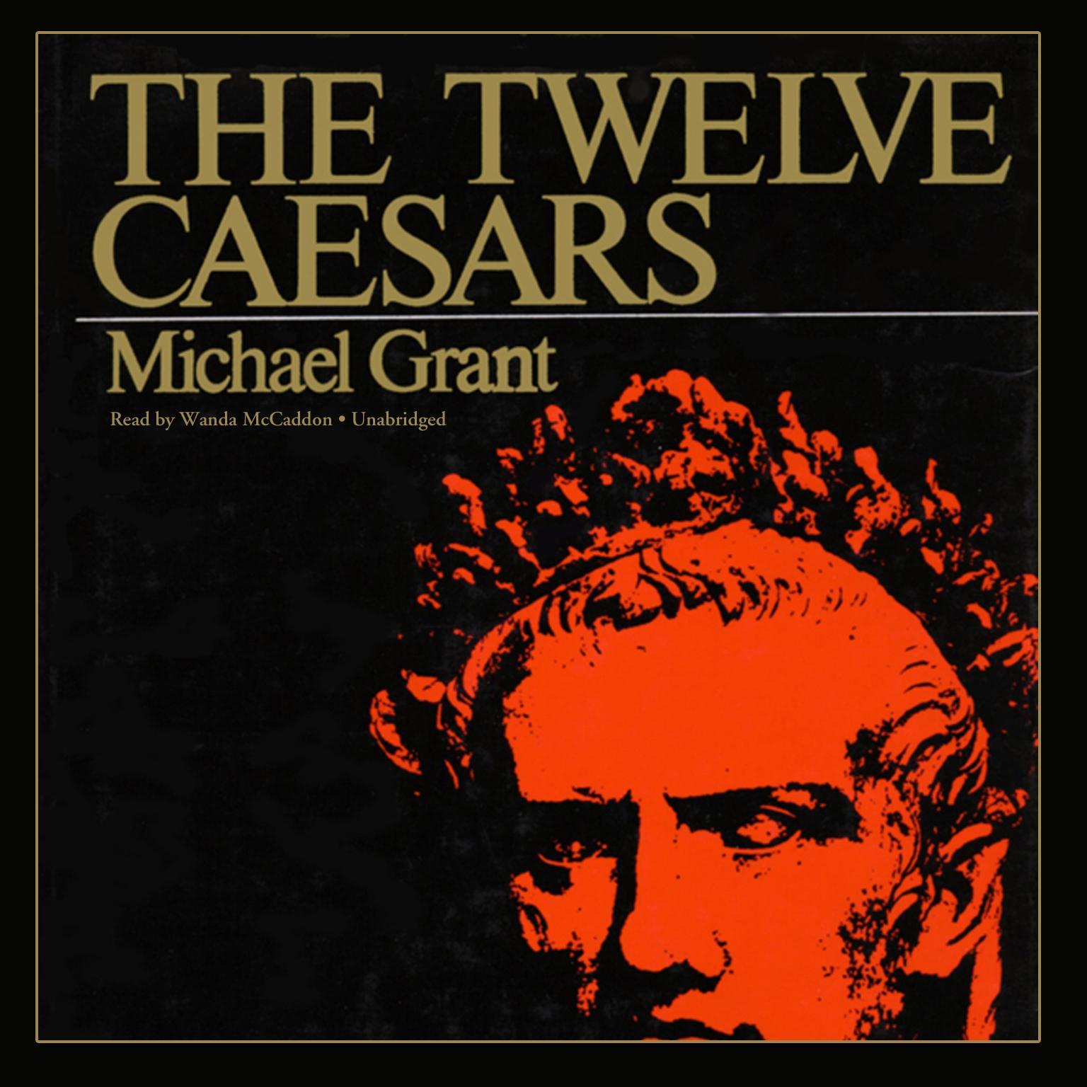 Printable The Twelve Caesars Audiobook Cover Art