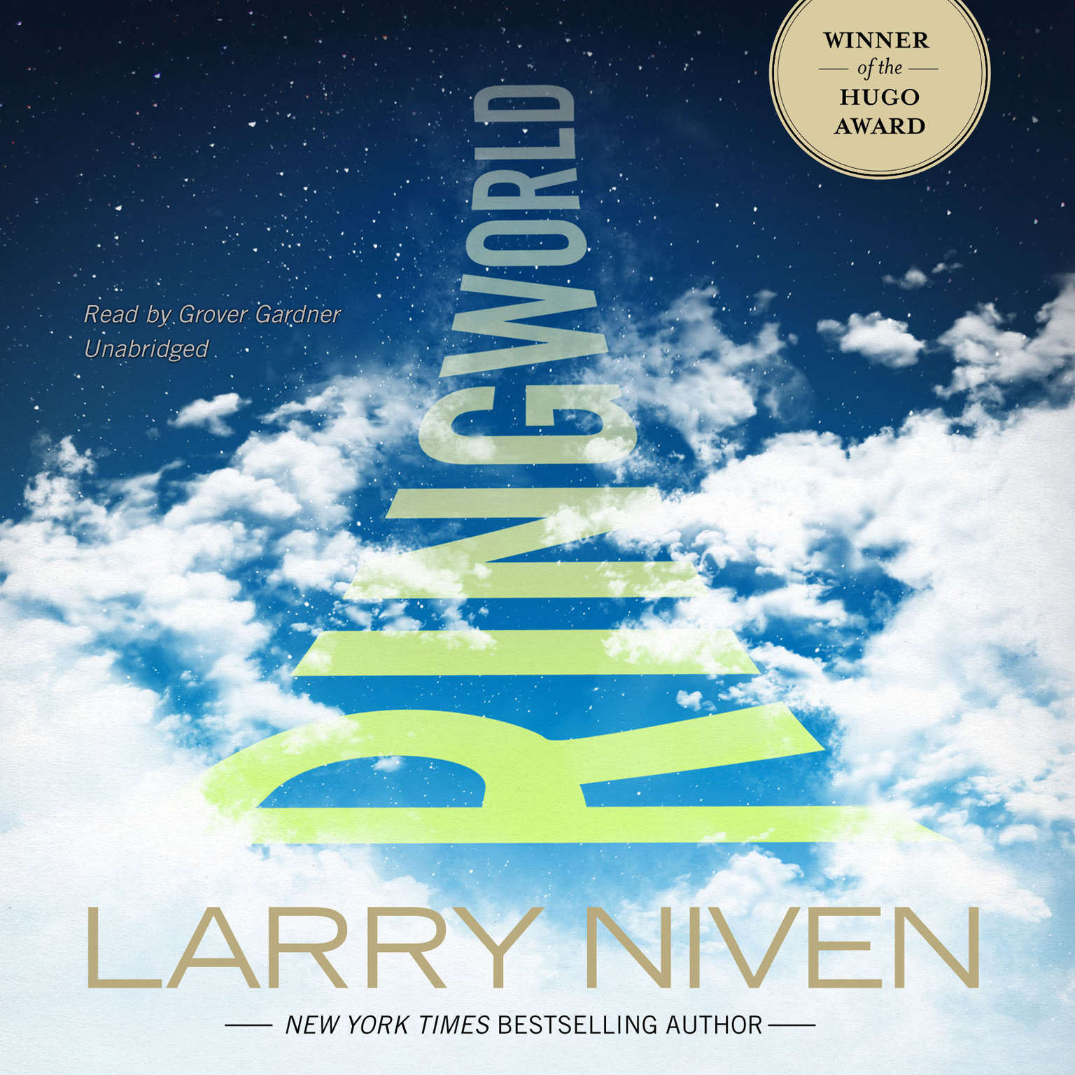 Printable Ringworld Audiobook Cover Art