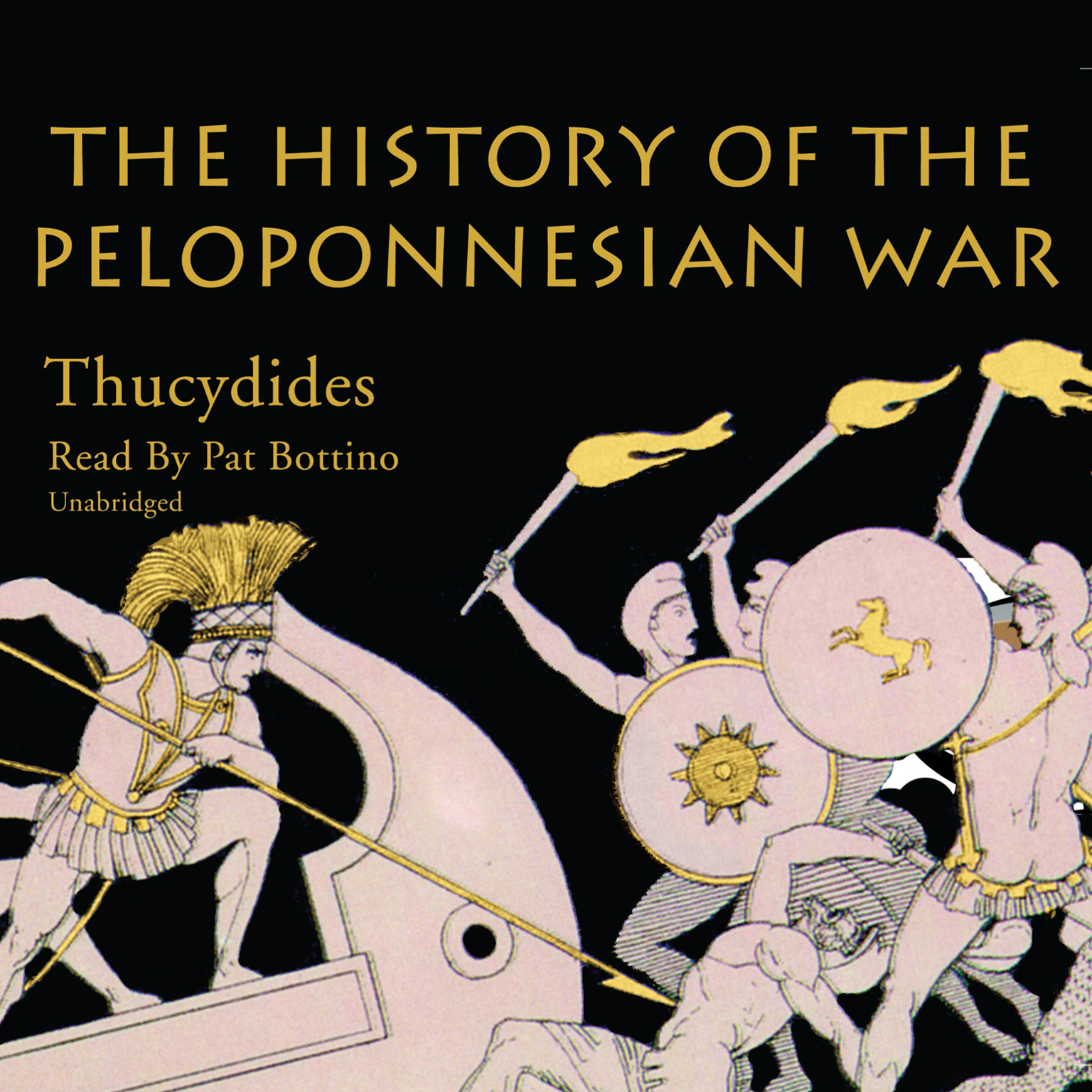 Printable The History of the Peloponnesian War Audiobook Cover Art