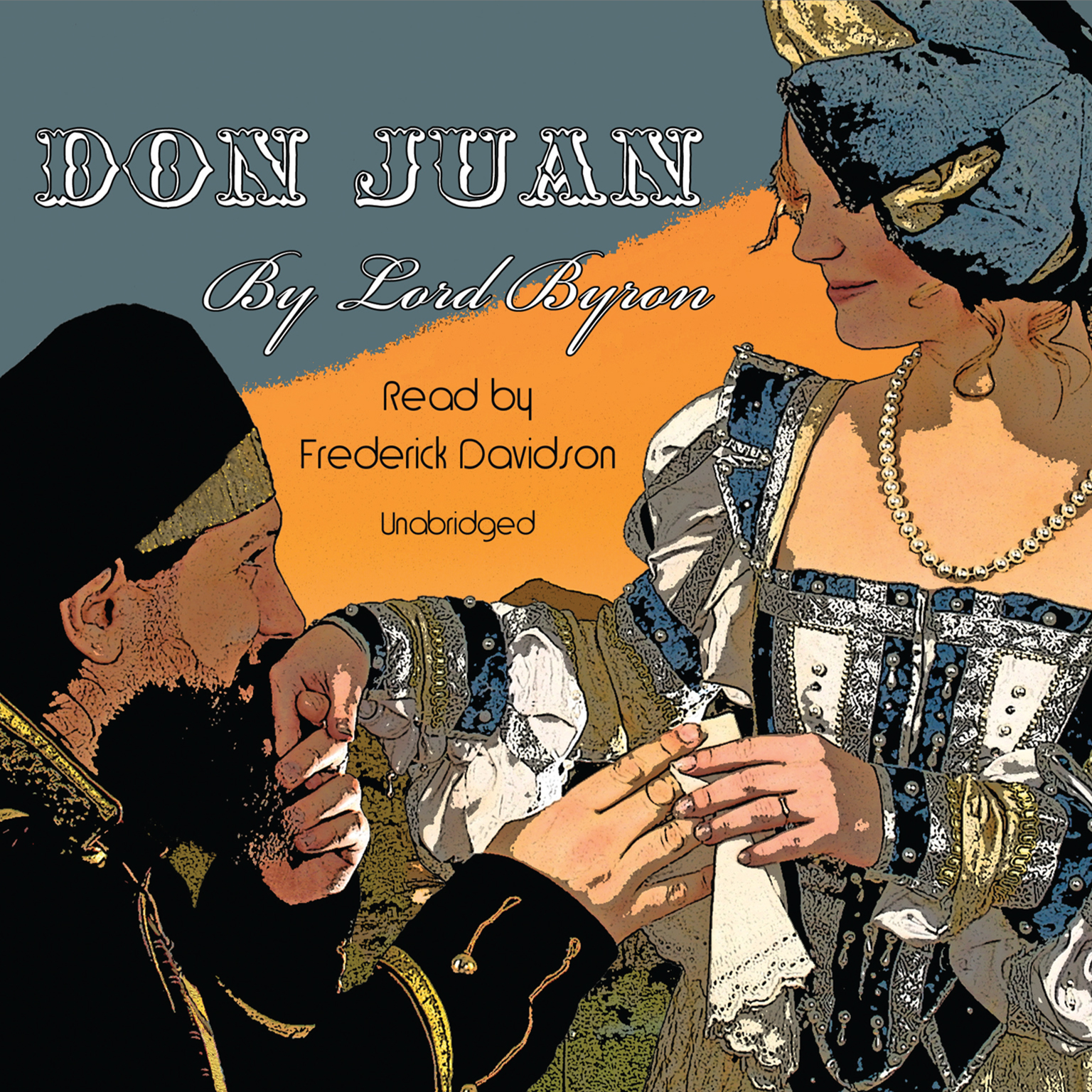 Printable Don Juan Audiobook Cover Art