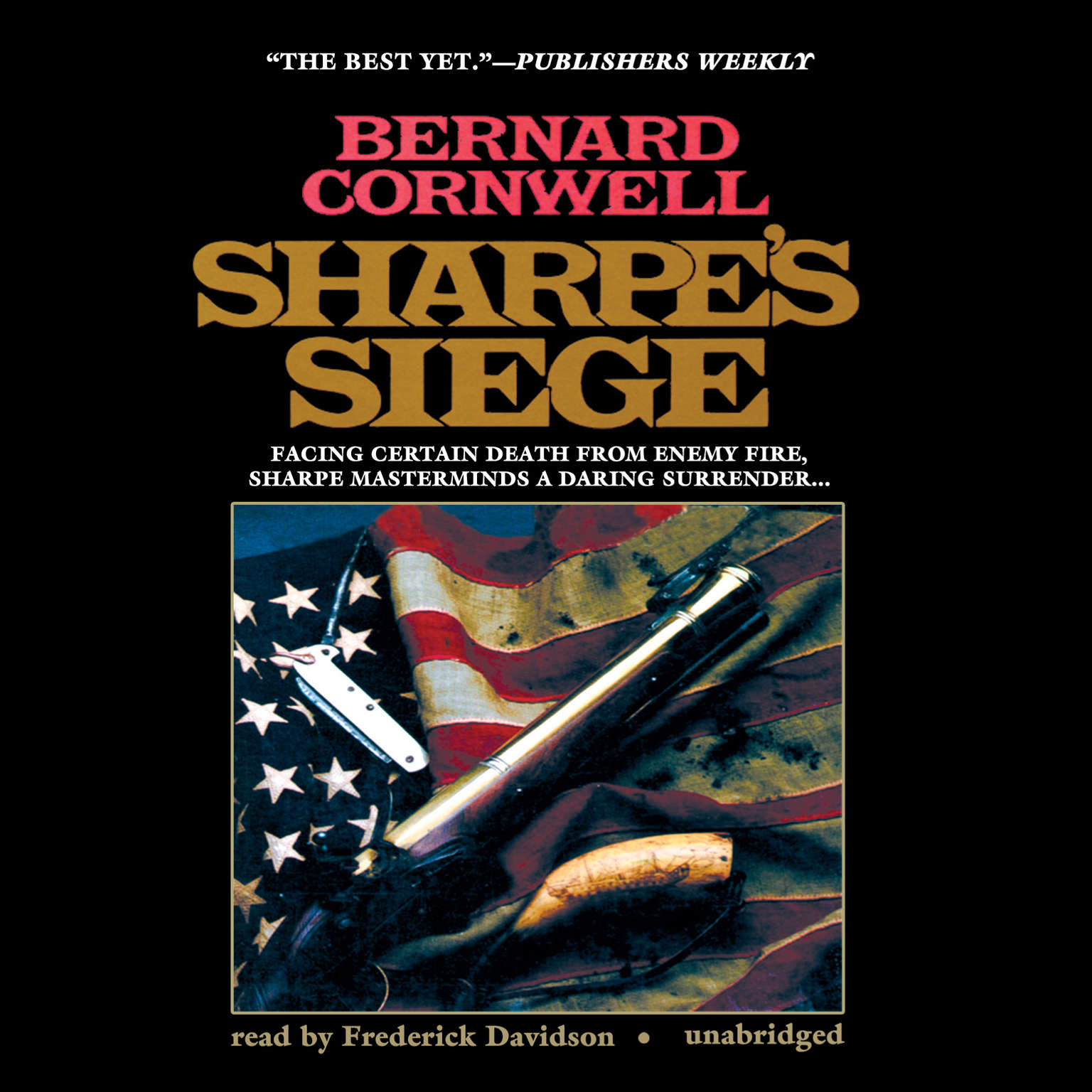 Printable Sharpe's Siege: Richard Sharpe and the Winter Campaign, 1814 Audiobook Cover Art