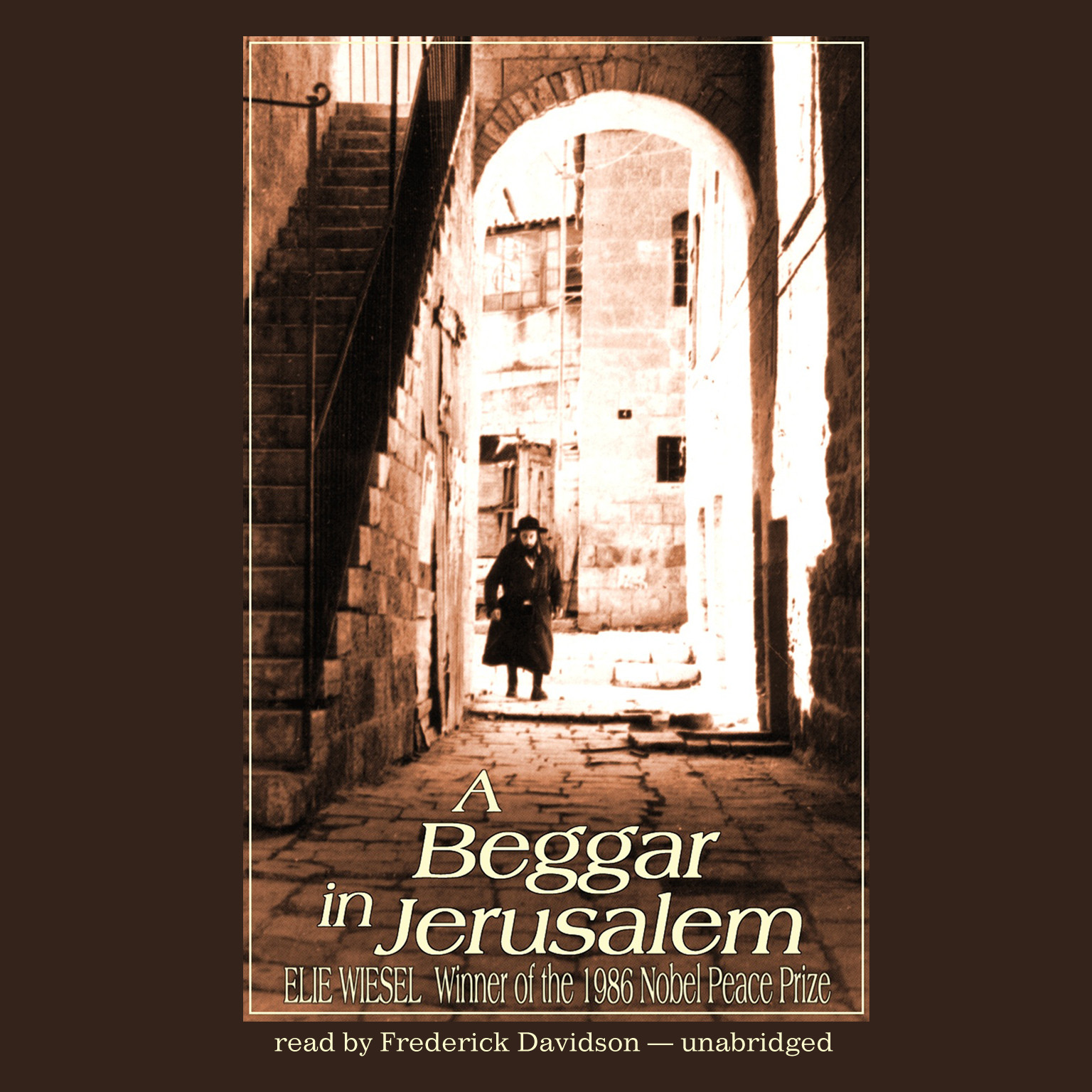 Printable A Beggar in Jerusalem Audiobook Cover Art