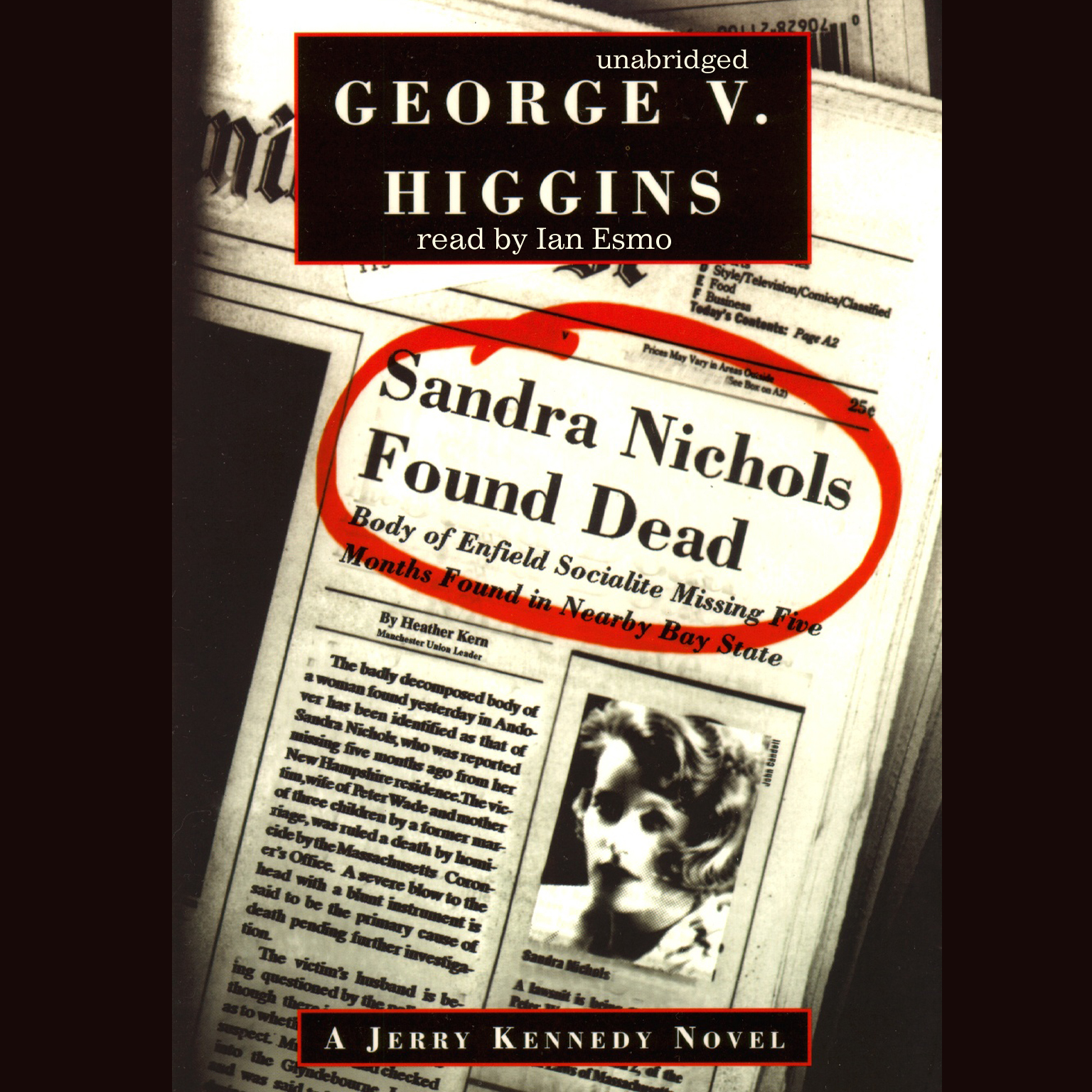 Printable Sandra Nichols Found Dead: A Jerry Kennedy Novel Audiobook Cover Art