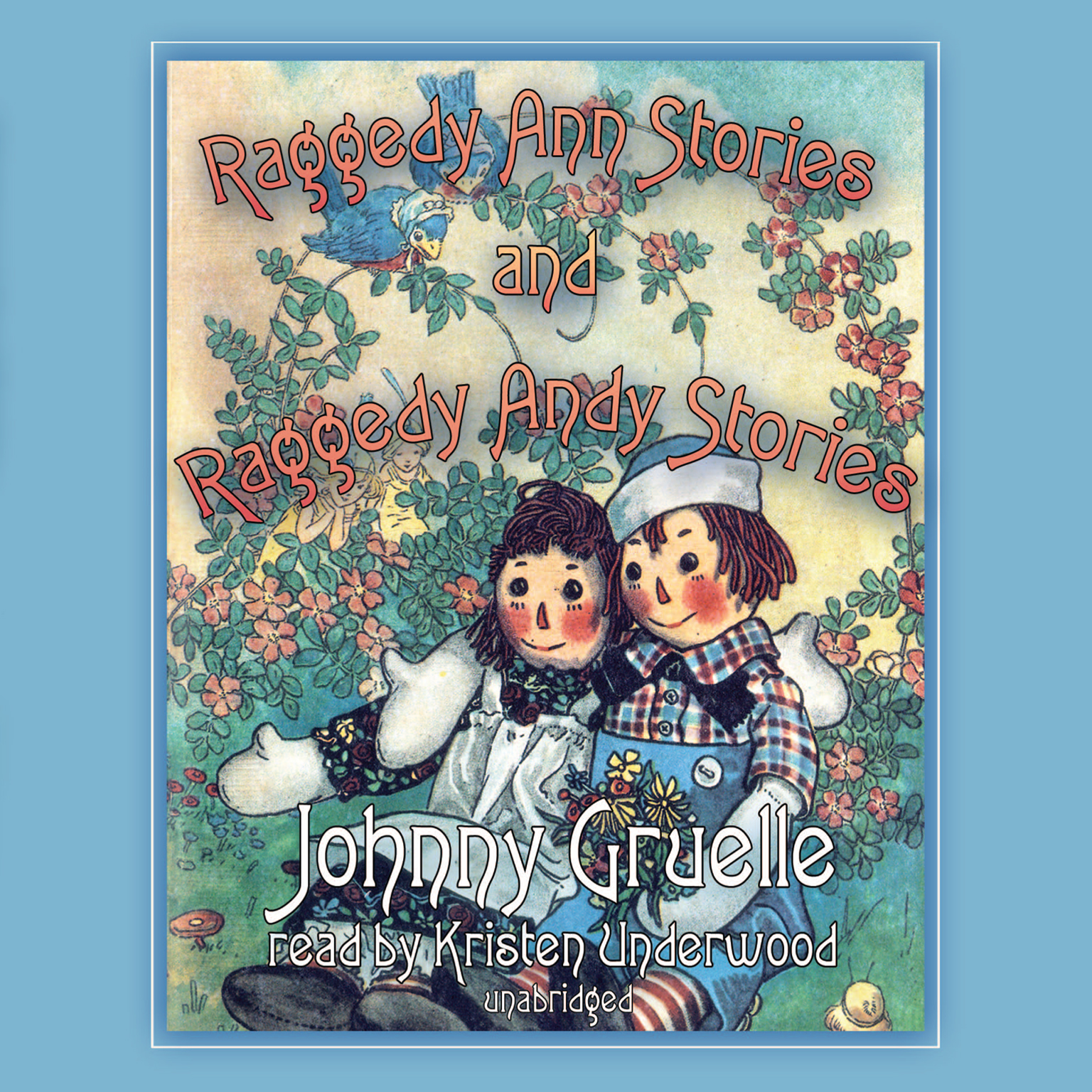 Printable Raggedy Ann Stories and Raggedy Andy Stories Audiobook Cover Art