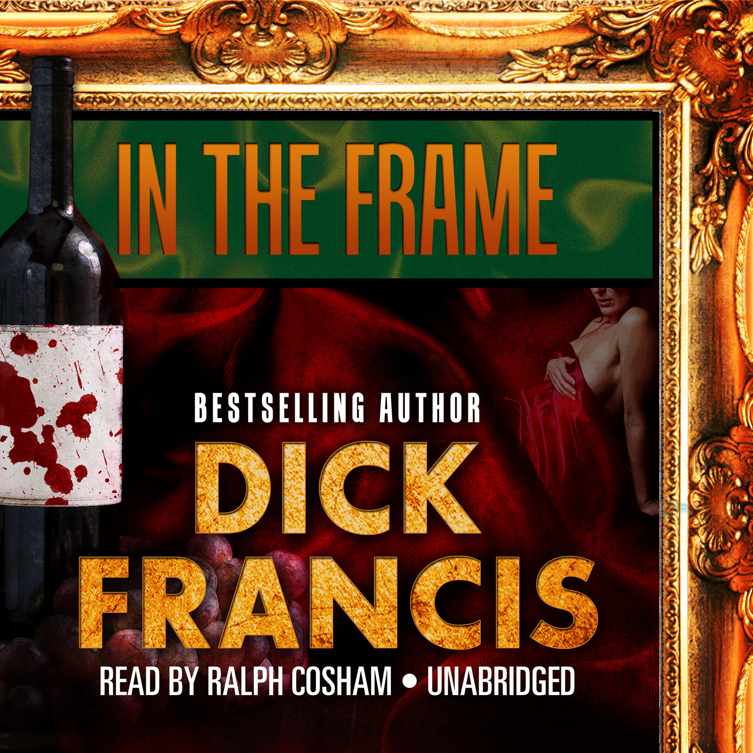 Printable In the Frame Audiobook Cover Art