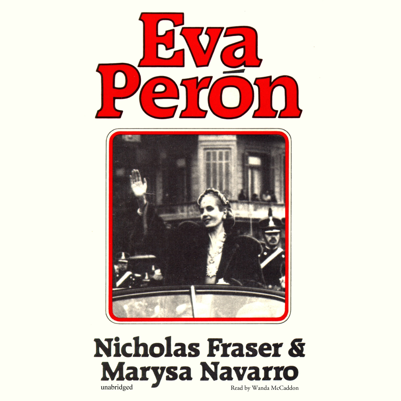 Printable Eva Perón Audiobook Cover Art