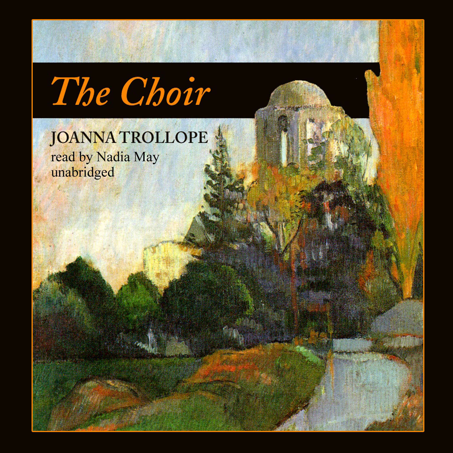Printable The Choir Audiobook Cover Art
