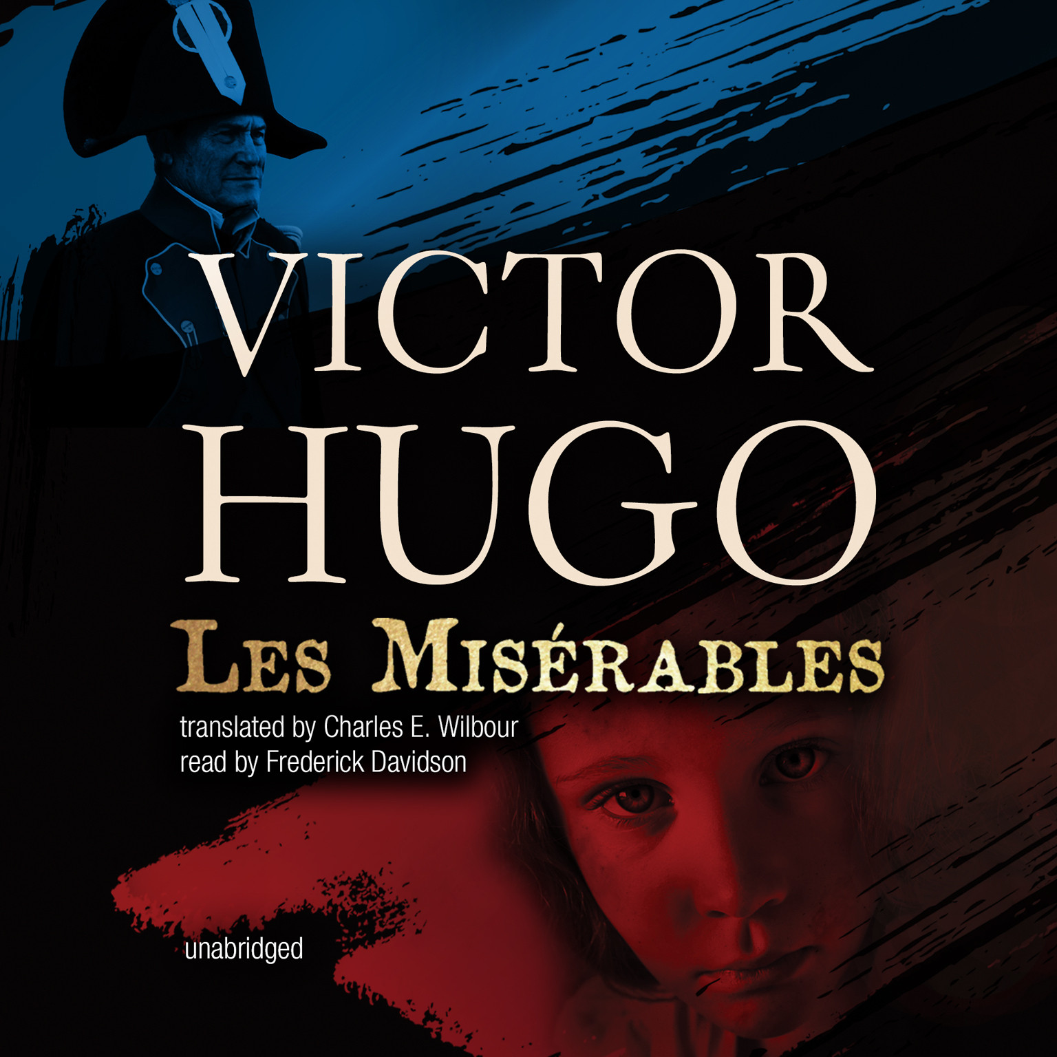 Printable Les Misérables Audiobook Cover Art