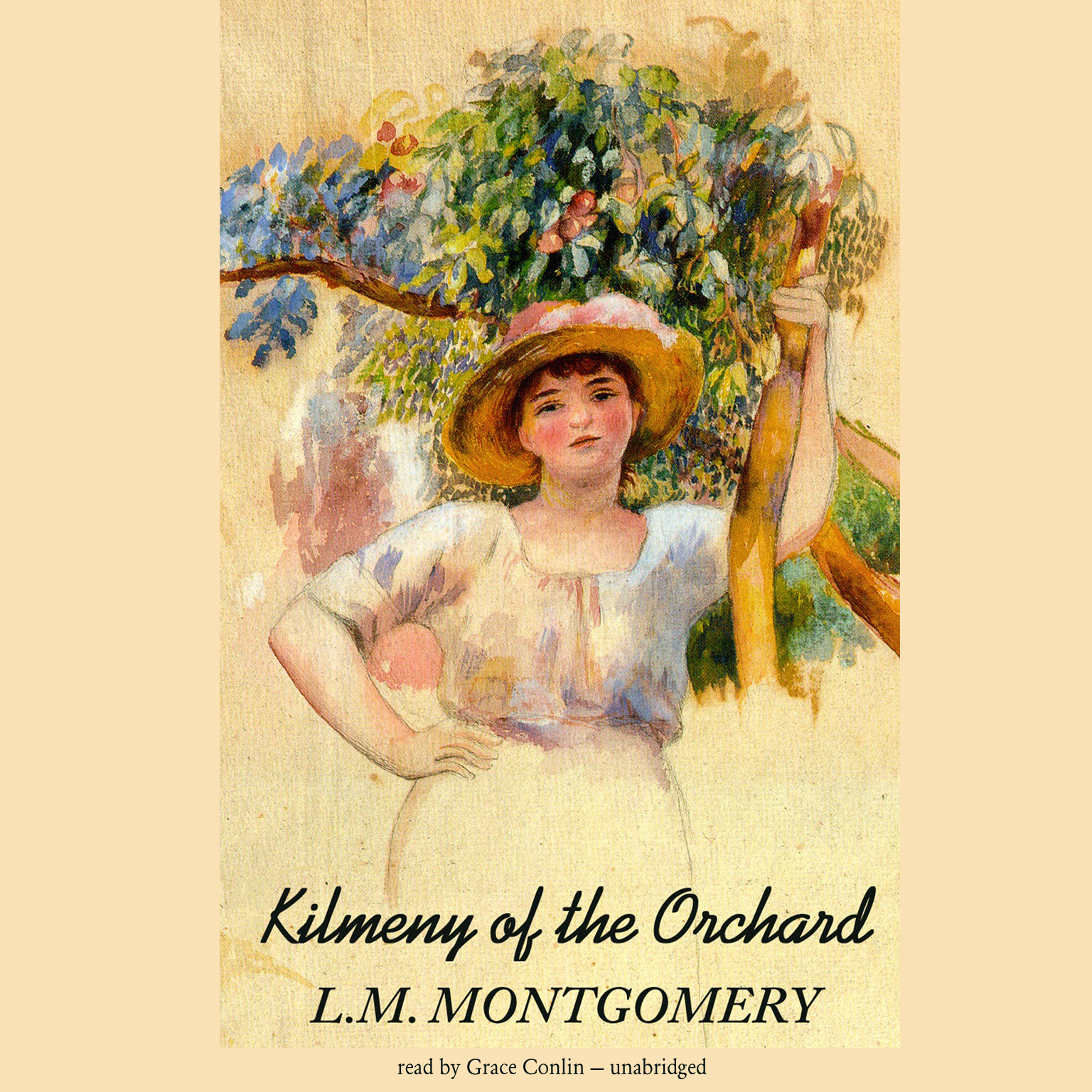 Printable Kilmeny of the Orchard Audiobook Cover Art