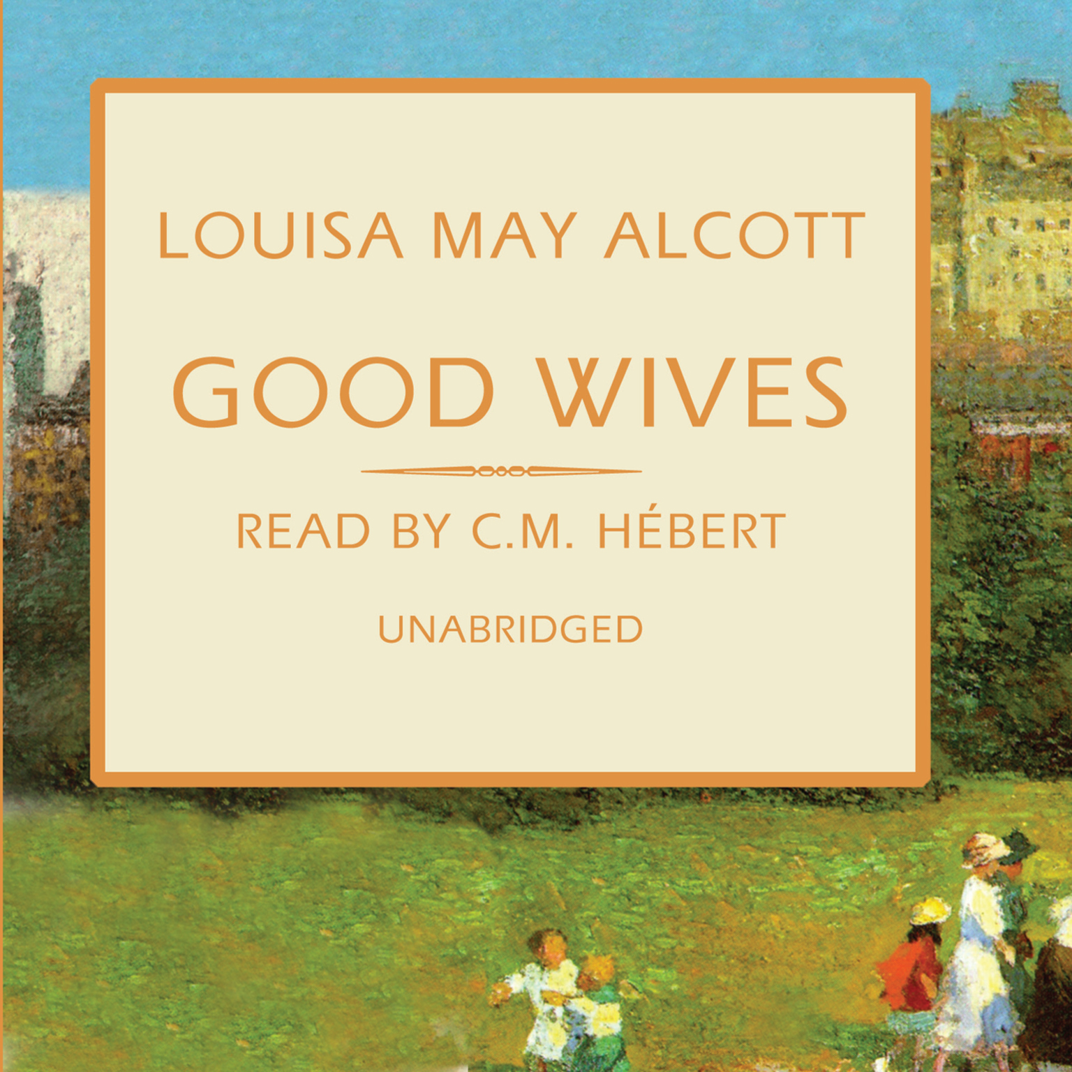 Printable Good Wives: The March Family Series Audiobook Cover Art