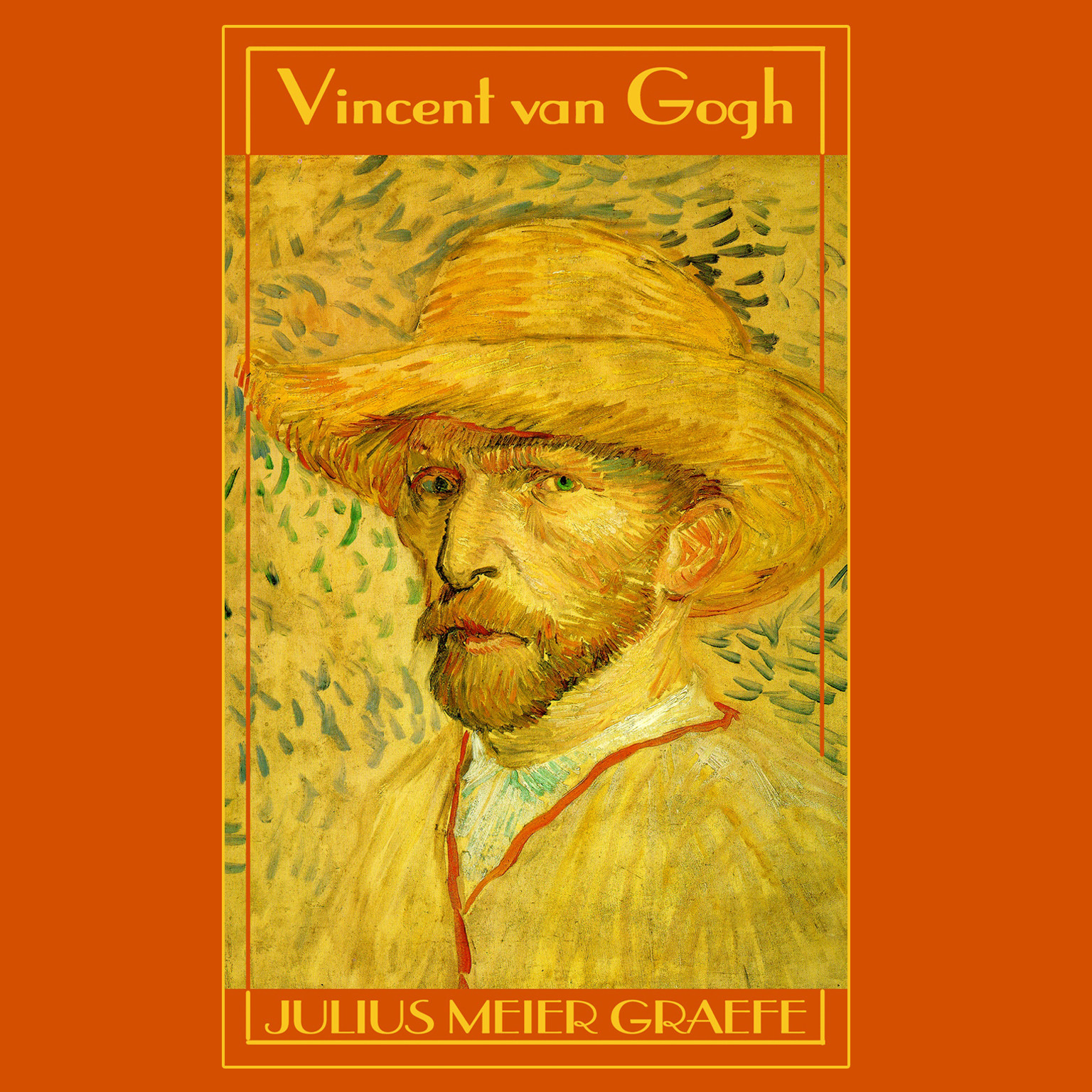 Printable Vincent van Gogh: A Biography Audiobook Cover Art