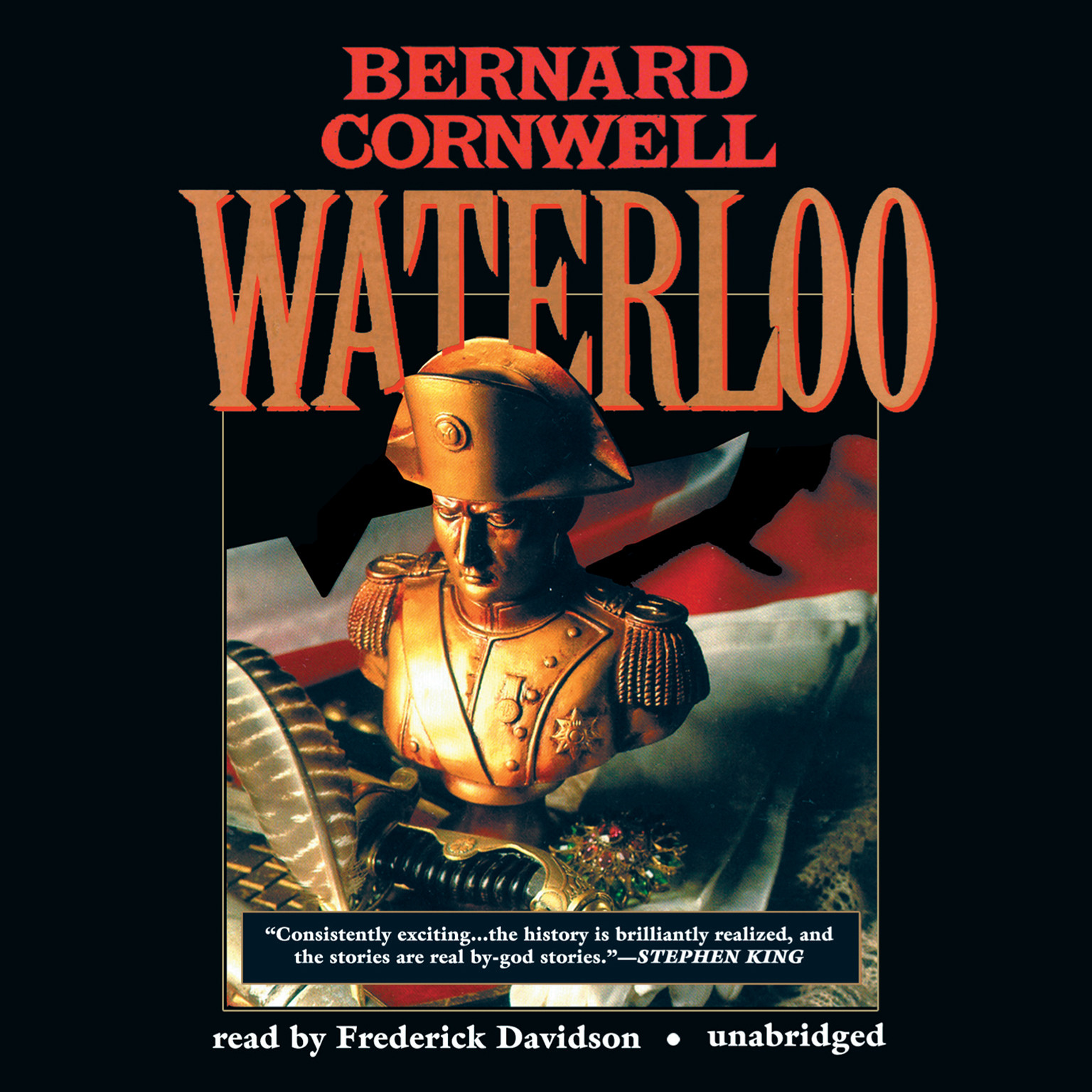 Printable Waterloo: Richard Sharpe and the Waterloo Campaign, 15 June to 18 June 1815 Audiobook Cover Art