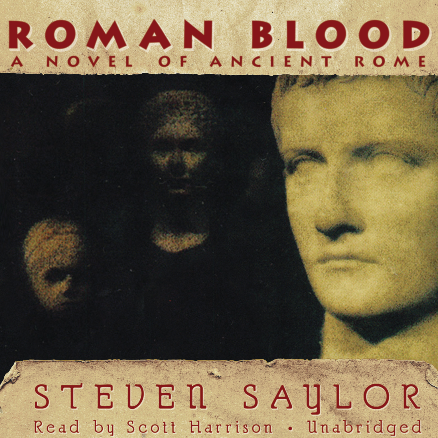 Printable Roman Blood: A Novel of Ancient Rome Audiobook Cover Art