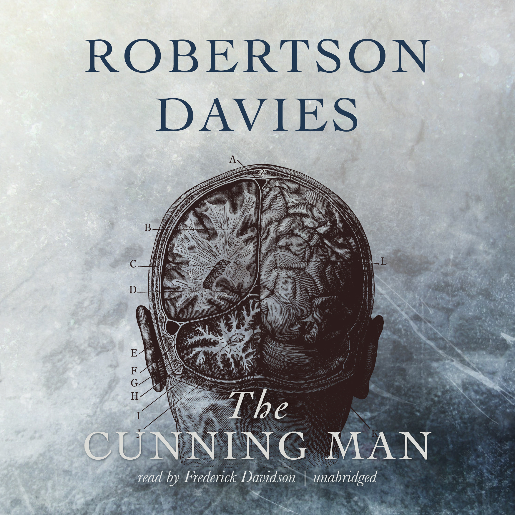 Printable The Cunning Man Audiobook Cover Art