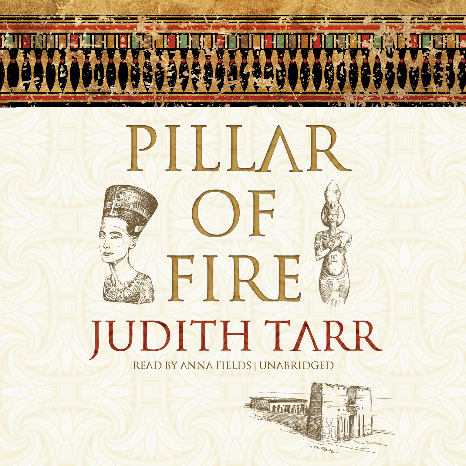 Printable Pillar of Fire Audiobook Cover Art