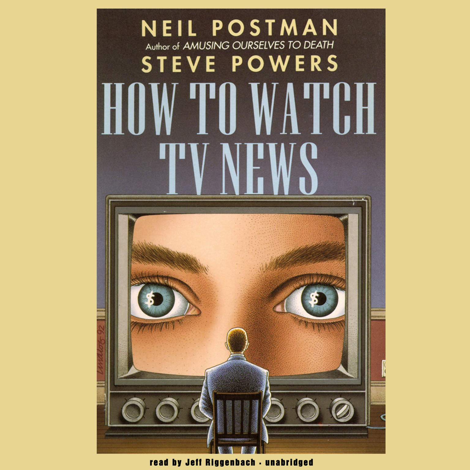 Printable How to Watch TV News Audiobook Cover Art