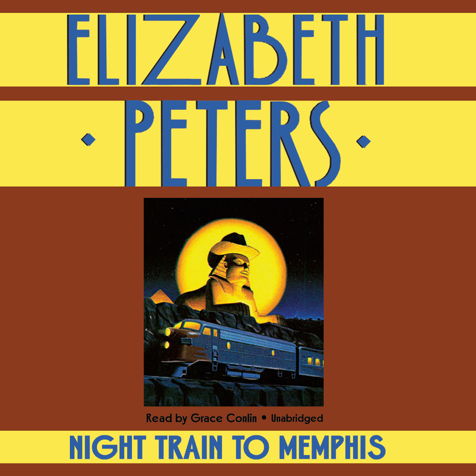Printable Night Train to Memphis Audiobook Cover Art